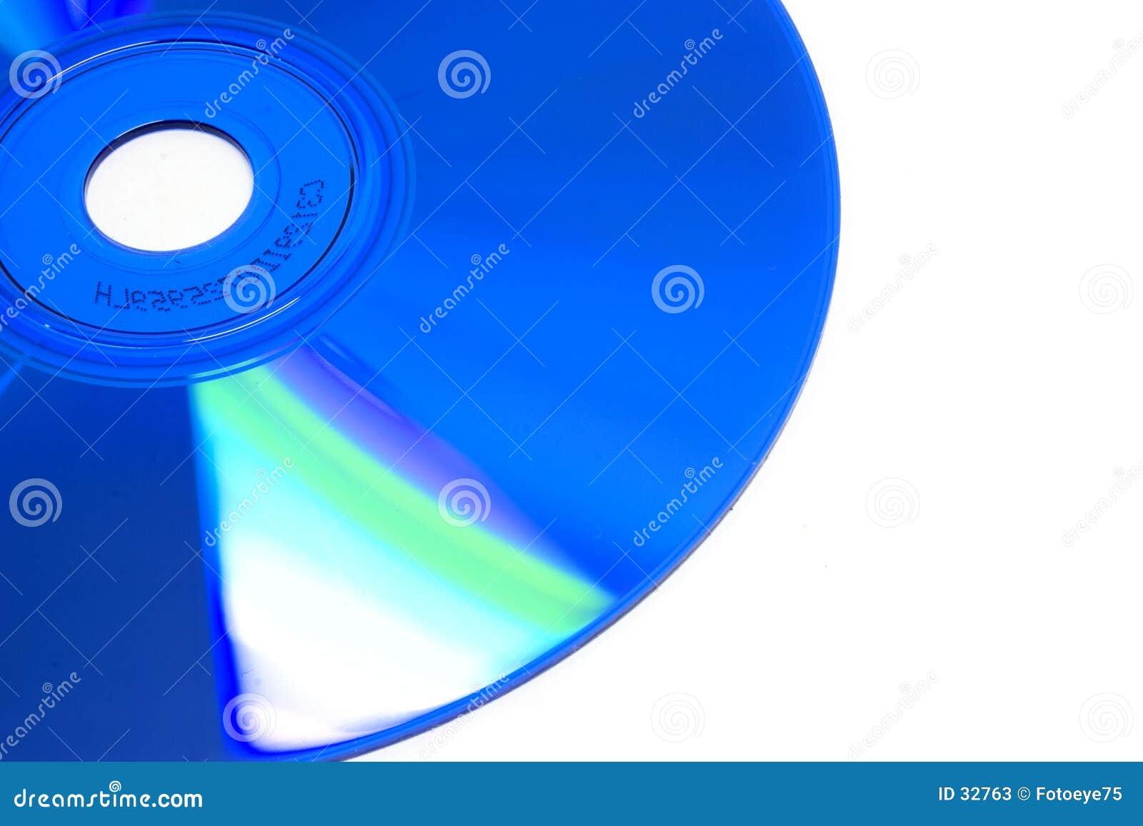 Blå cd