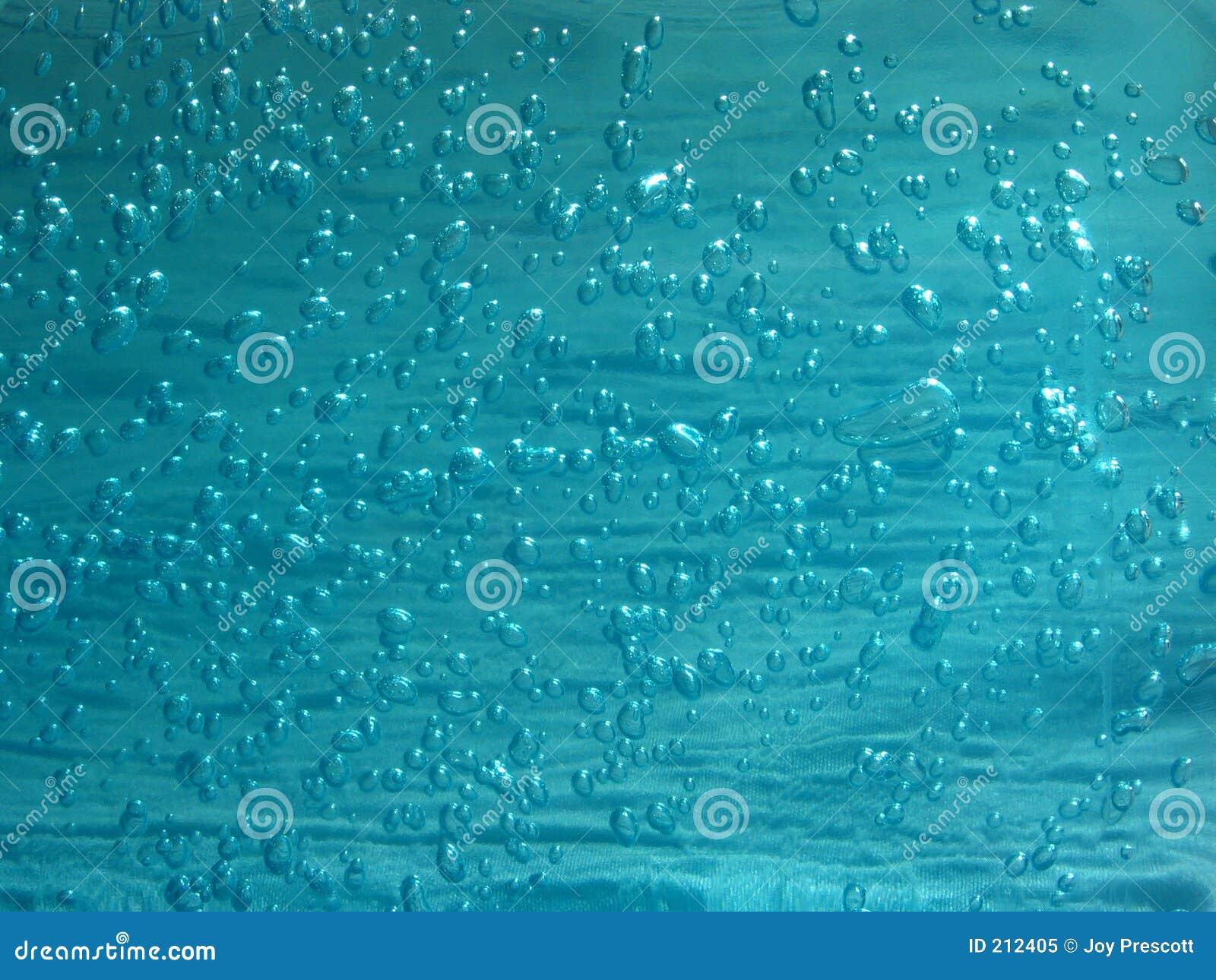 Blå gel