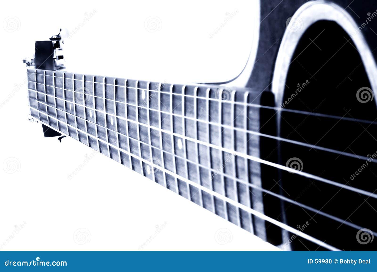 Blå gitarr
