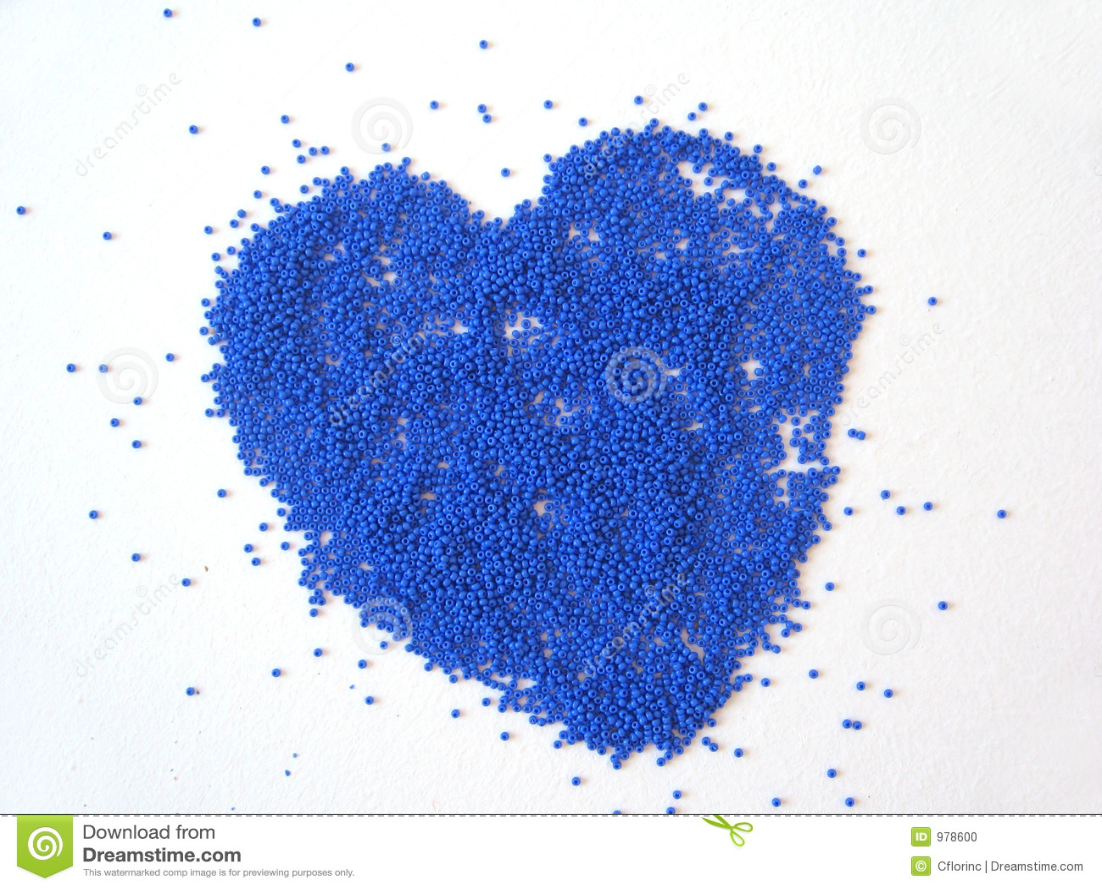 Blå hjärta