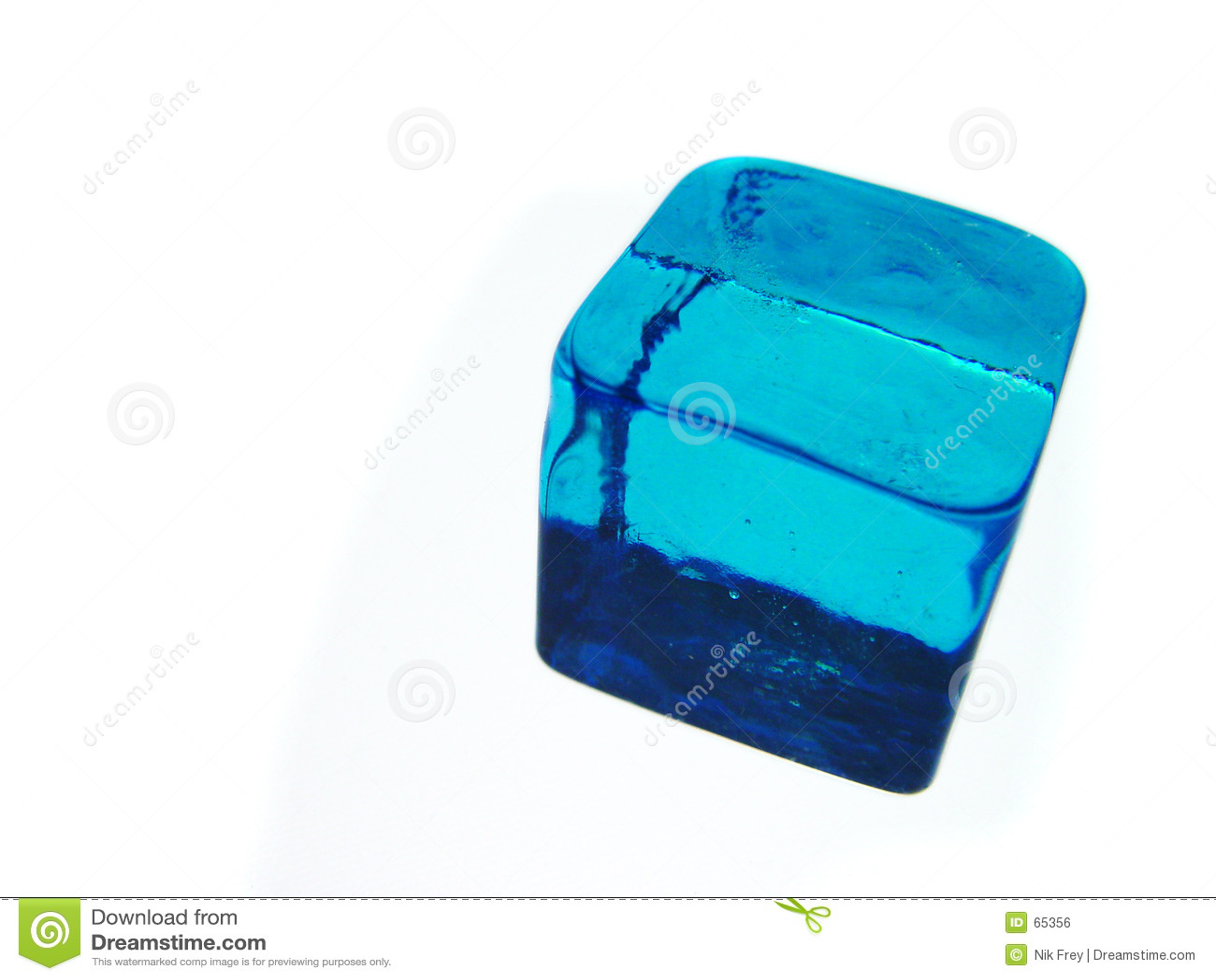 Blå kub