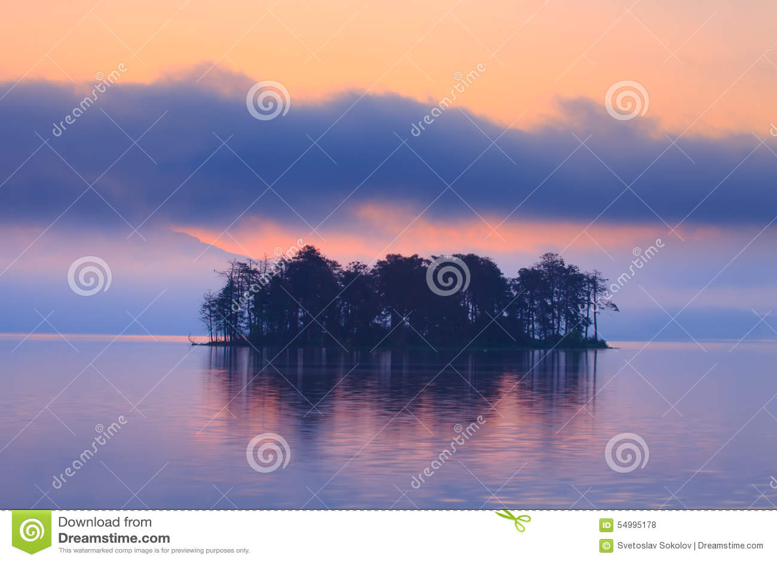 Blå lakemorgon