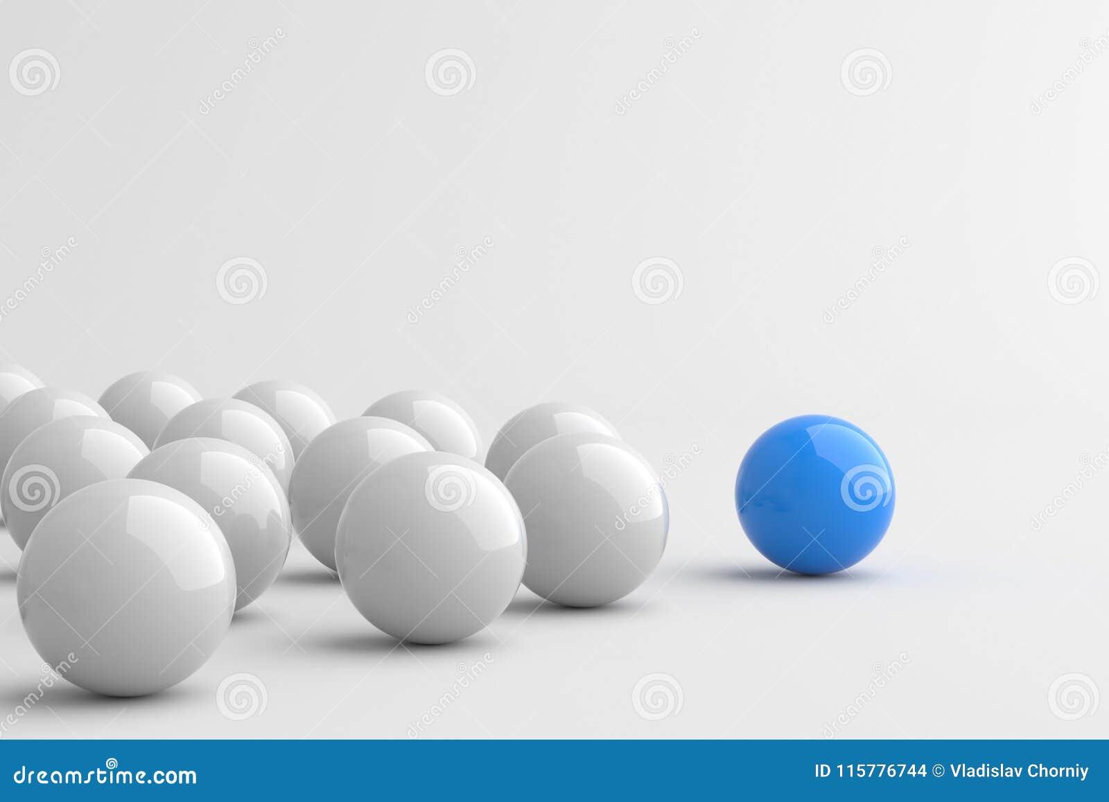 Blå ledareboll