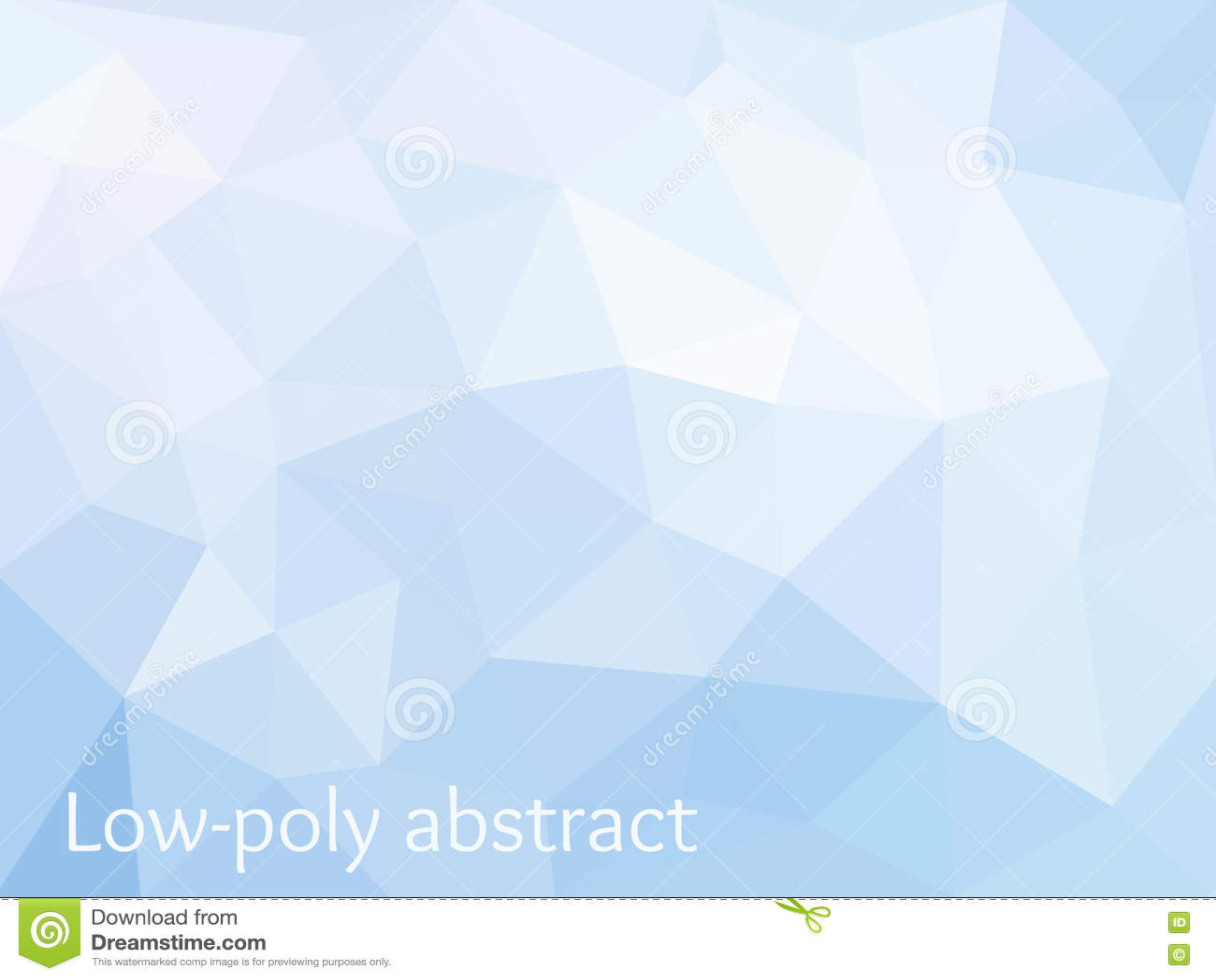 Blå ljus Polygonal mosaisk bakgrund
