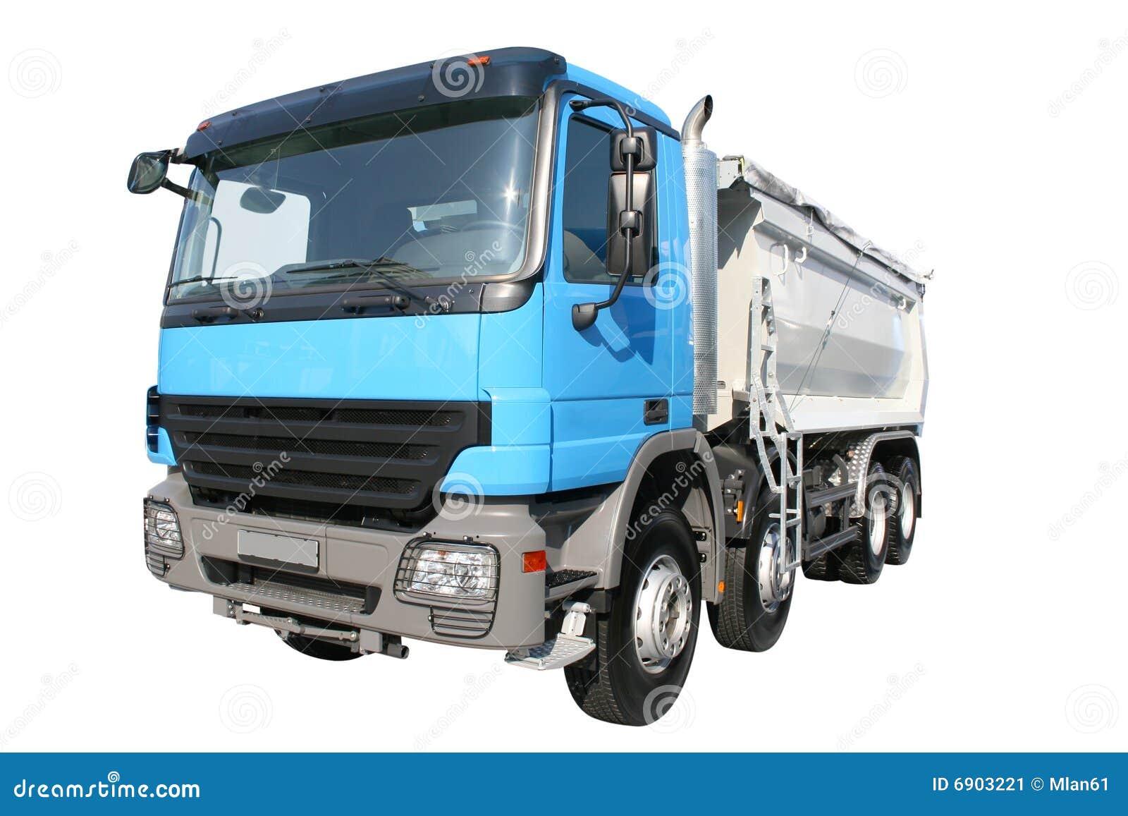 Blå lorry