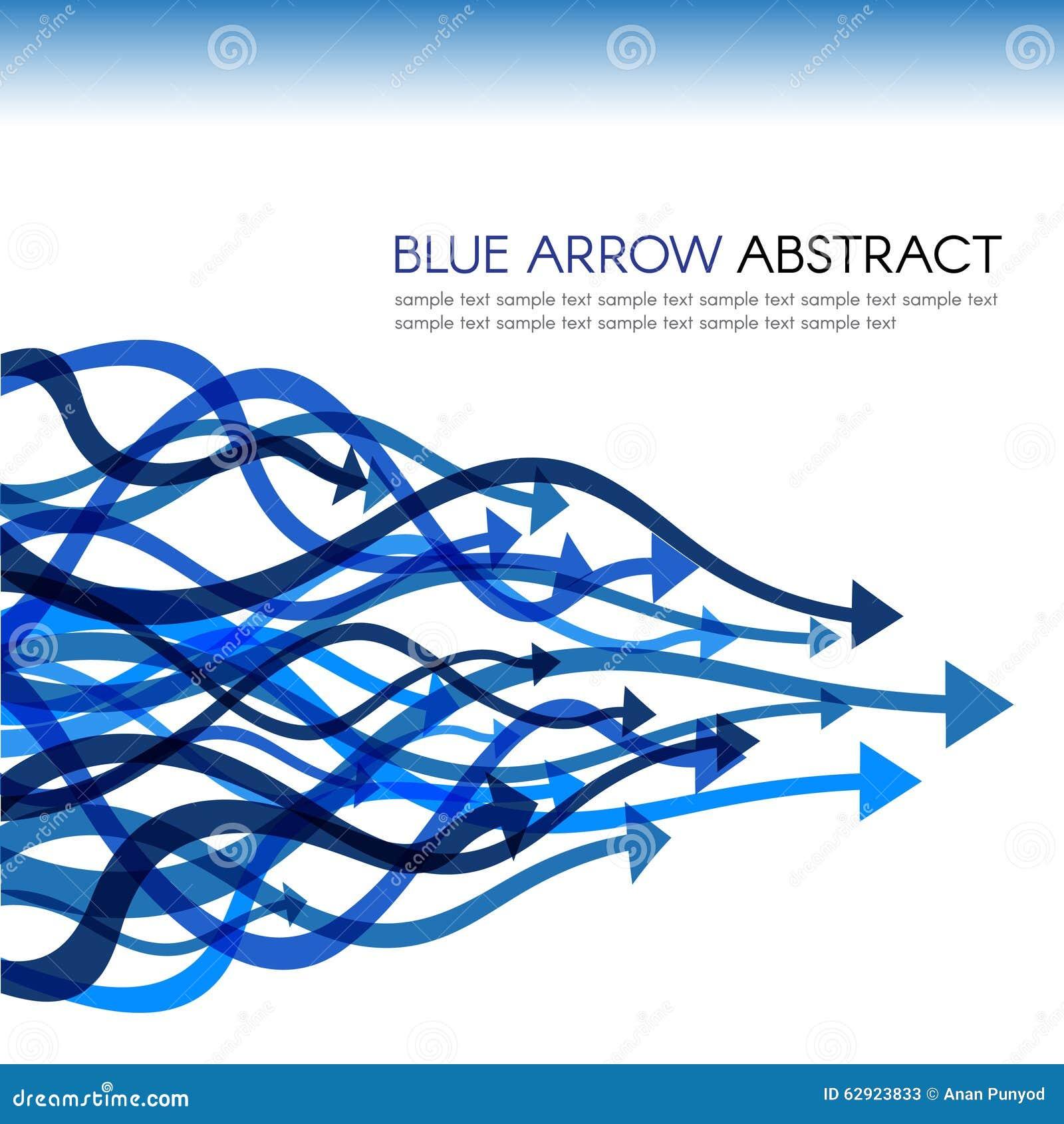 Blå pillinje för vektorabstrakt begrepp för kurva skarp bakgrund