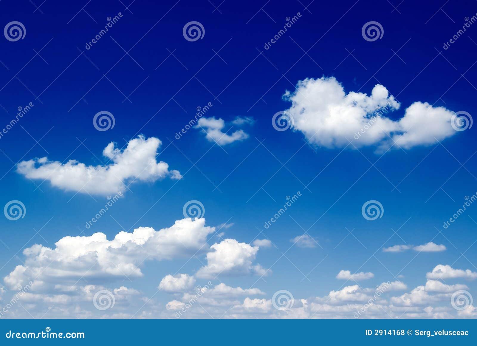Blå sky