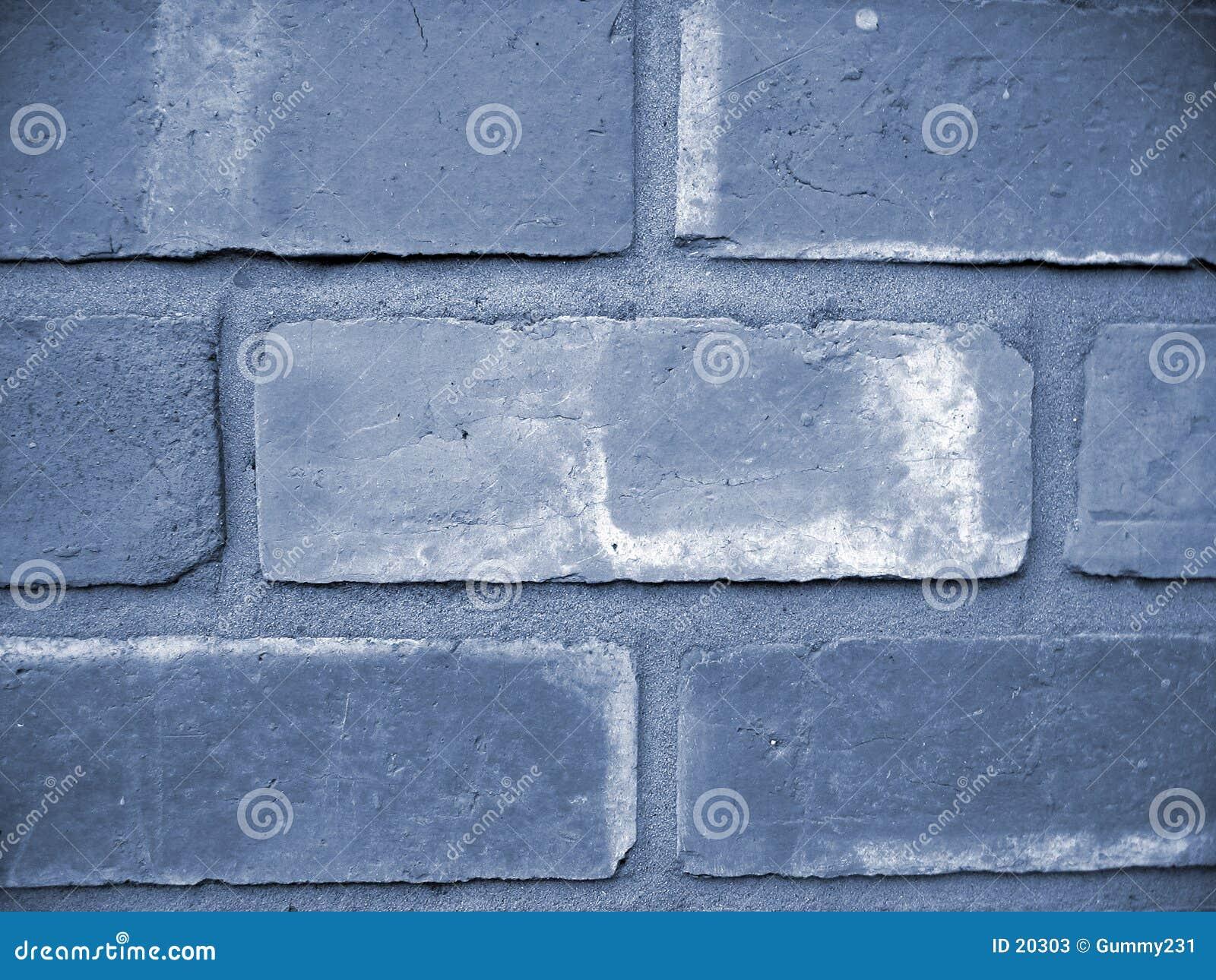 Blå vägg