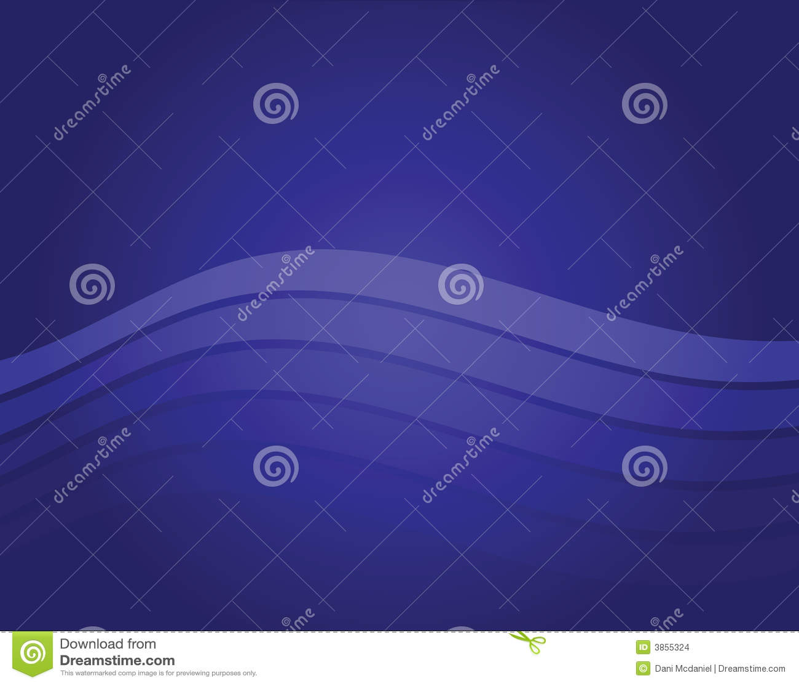 Blå wave för bakgrund