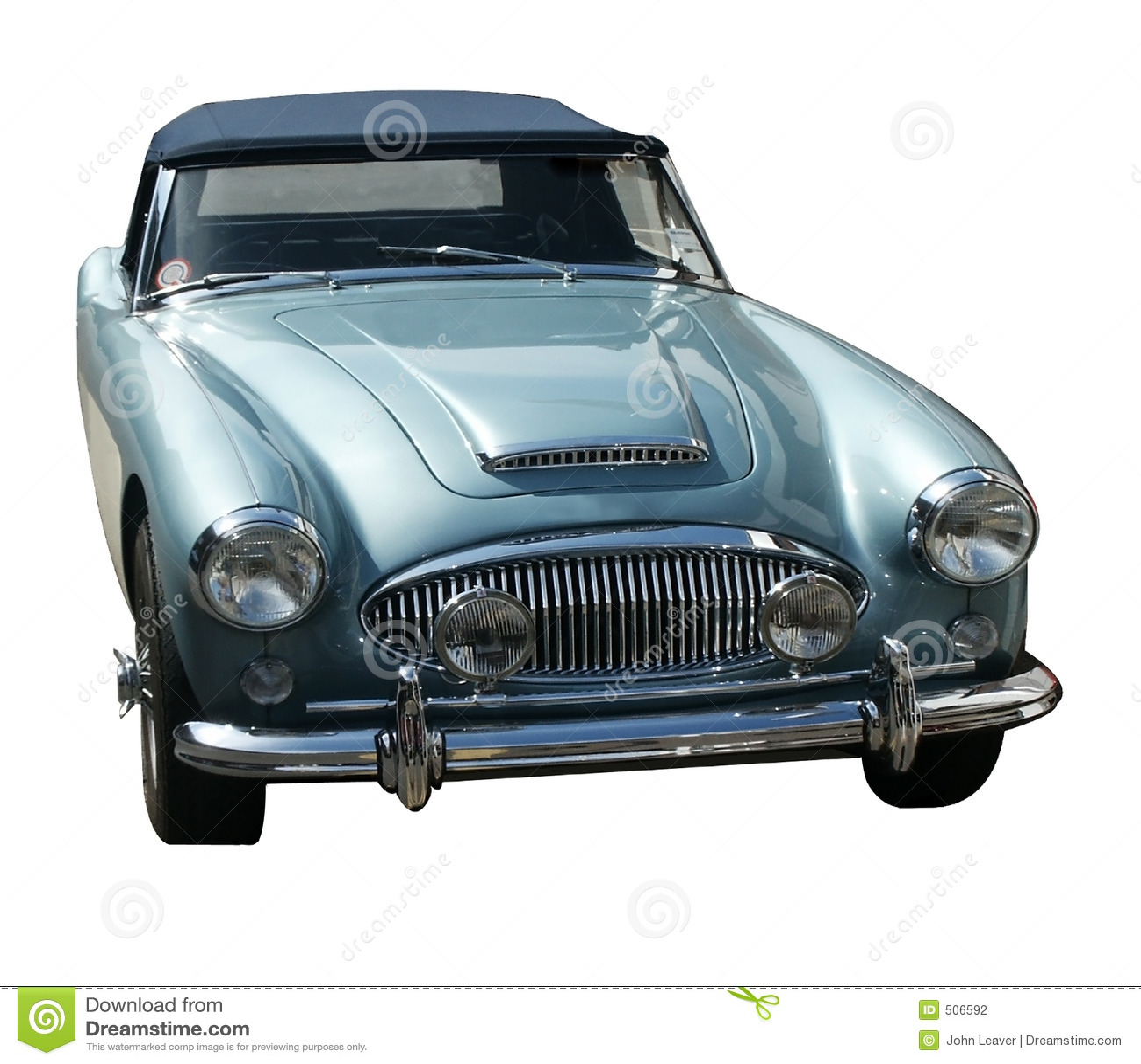 Blåa bilsportar