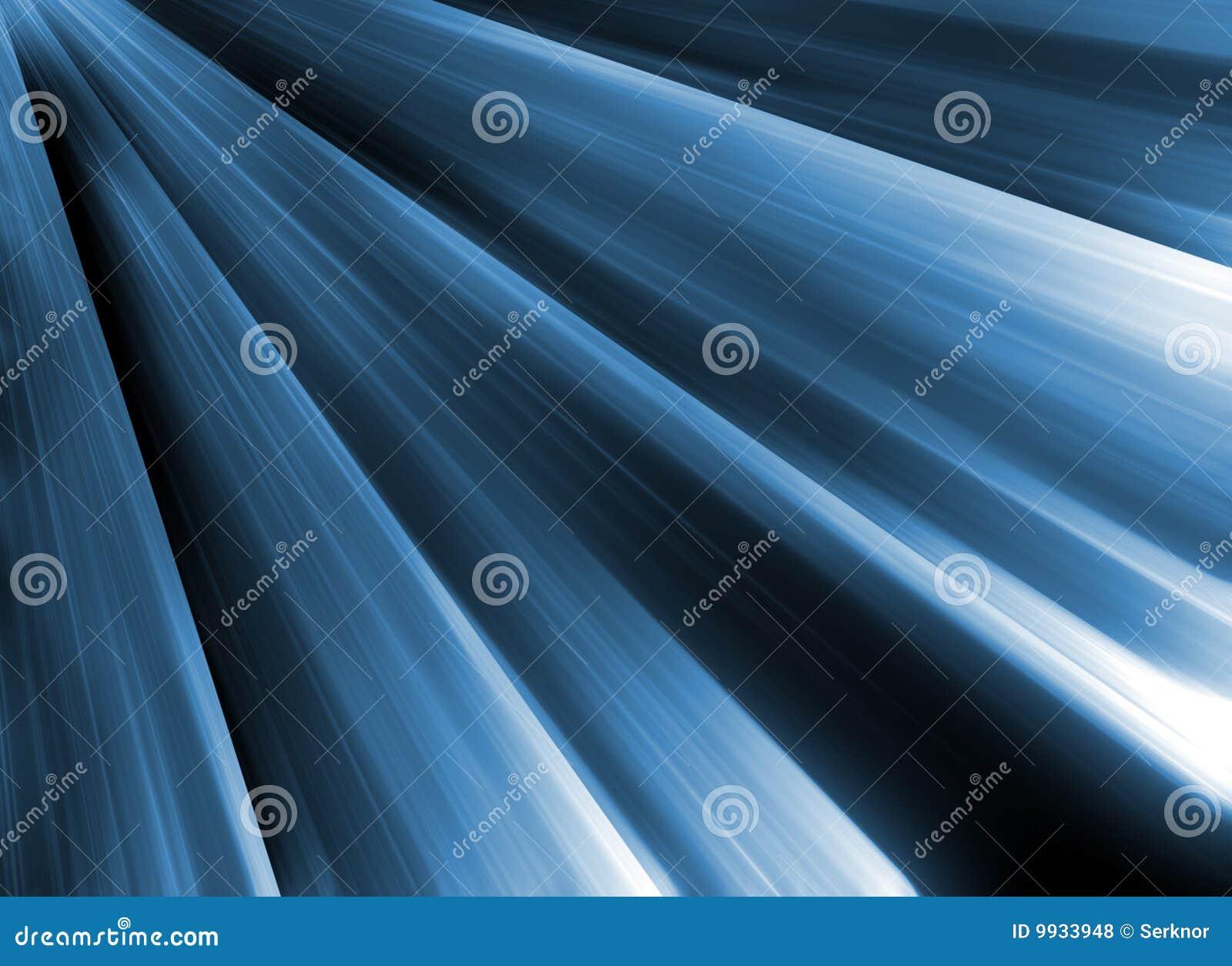 Blåa lampor