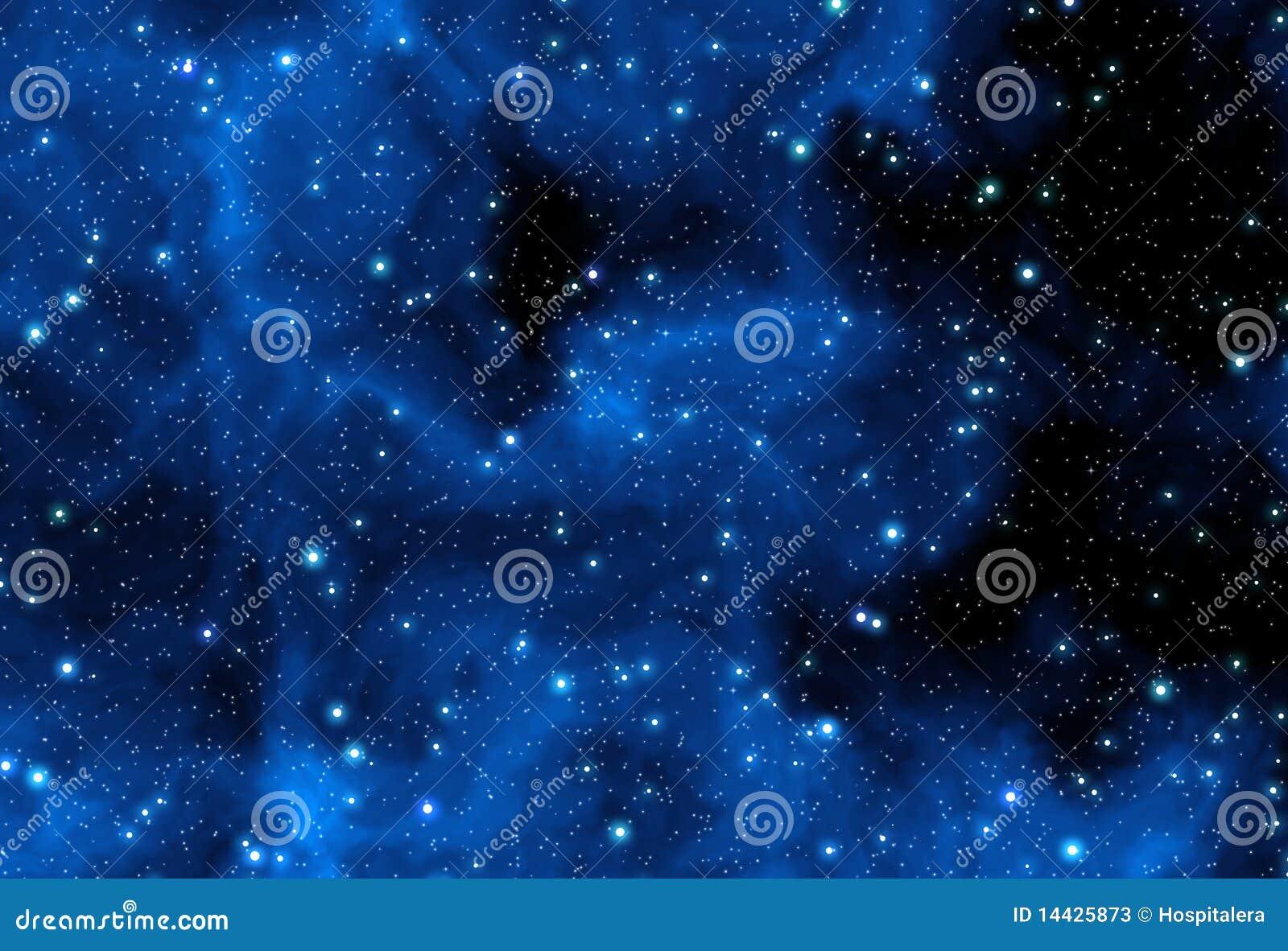 Blåa nebulastjärnor