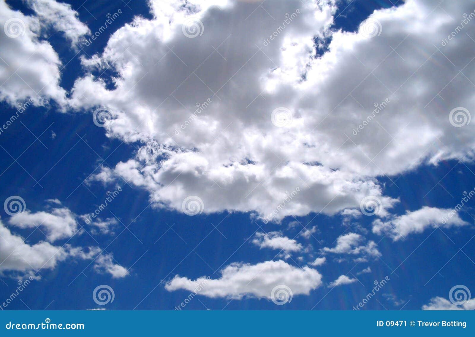 Blåa skies