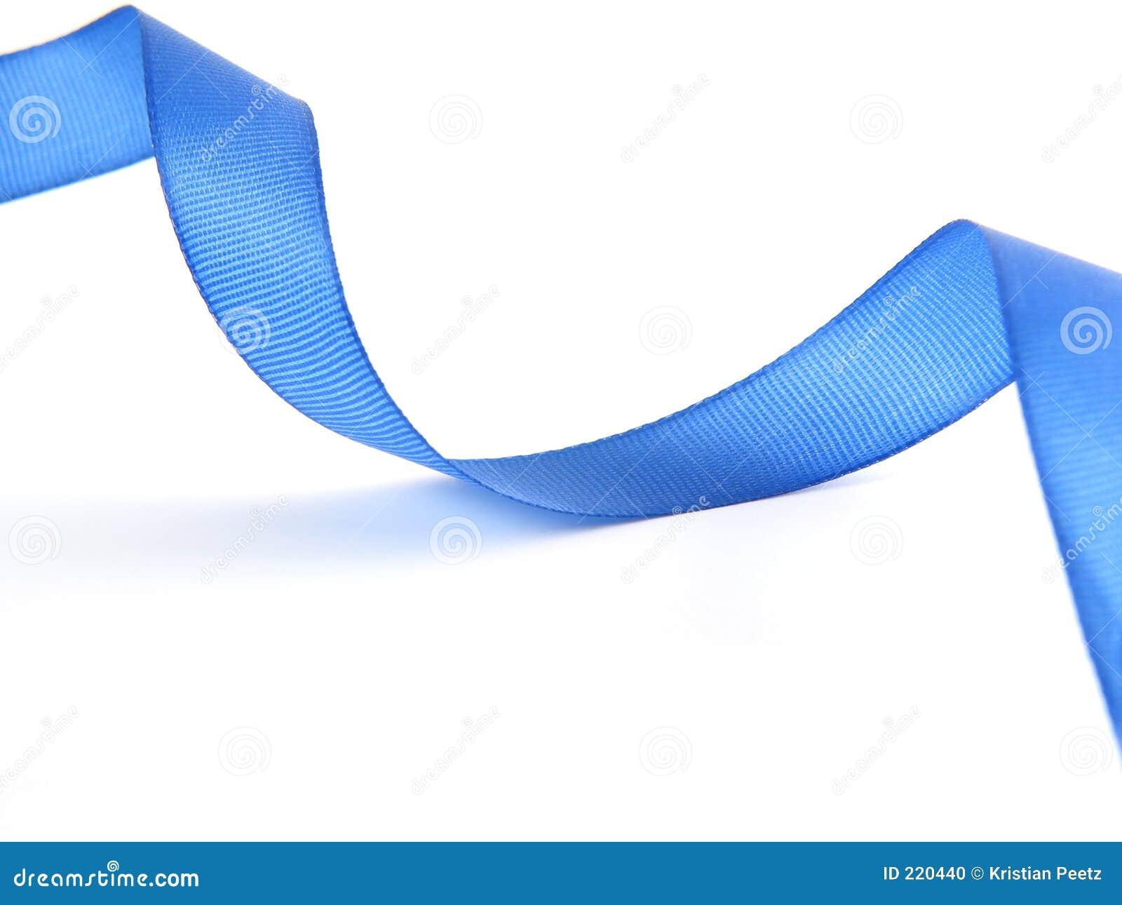 Blått crossingband