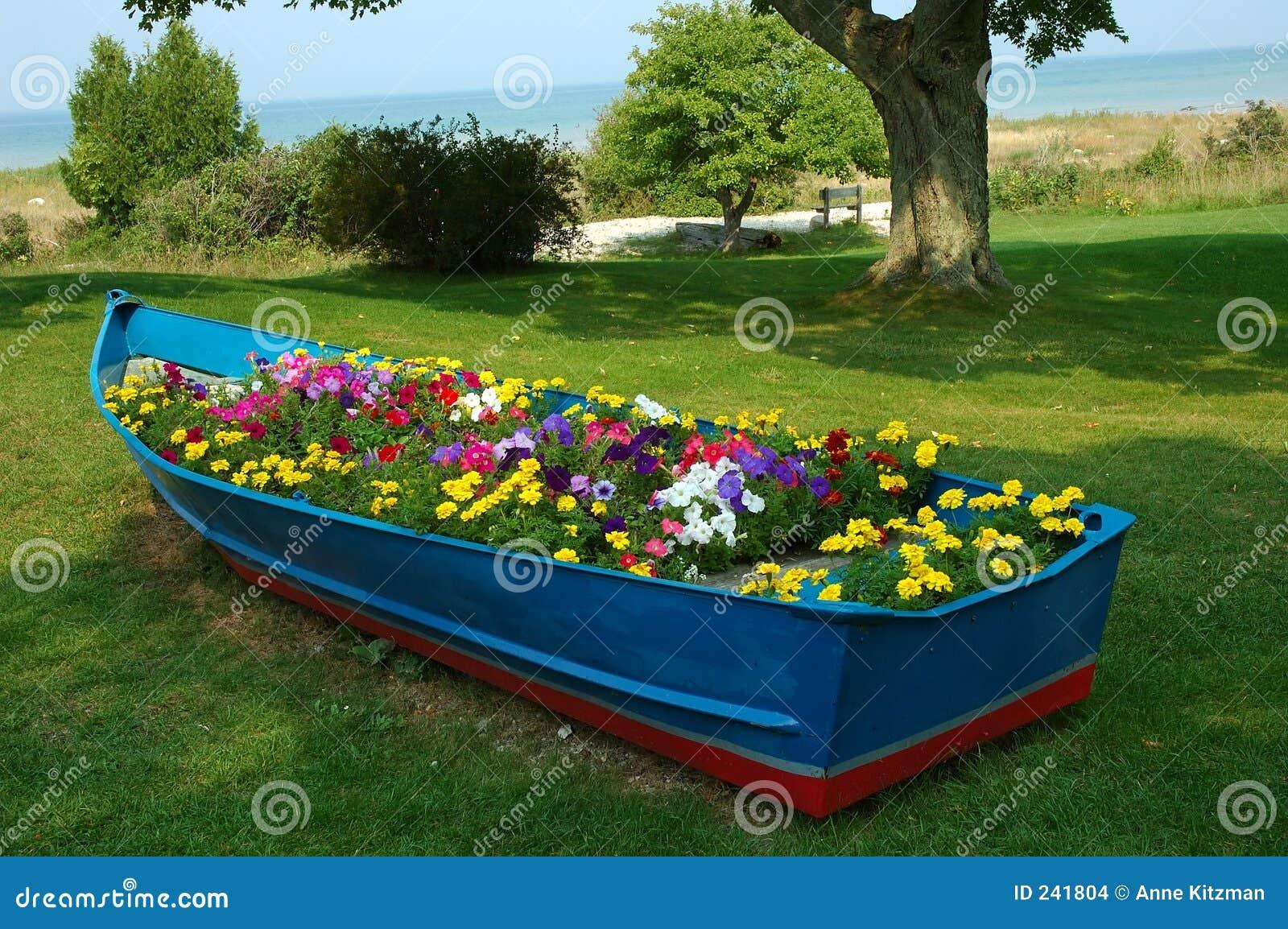 Blått fartyg
