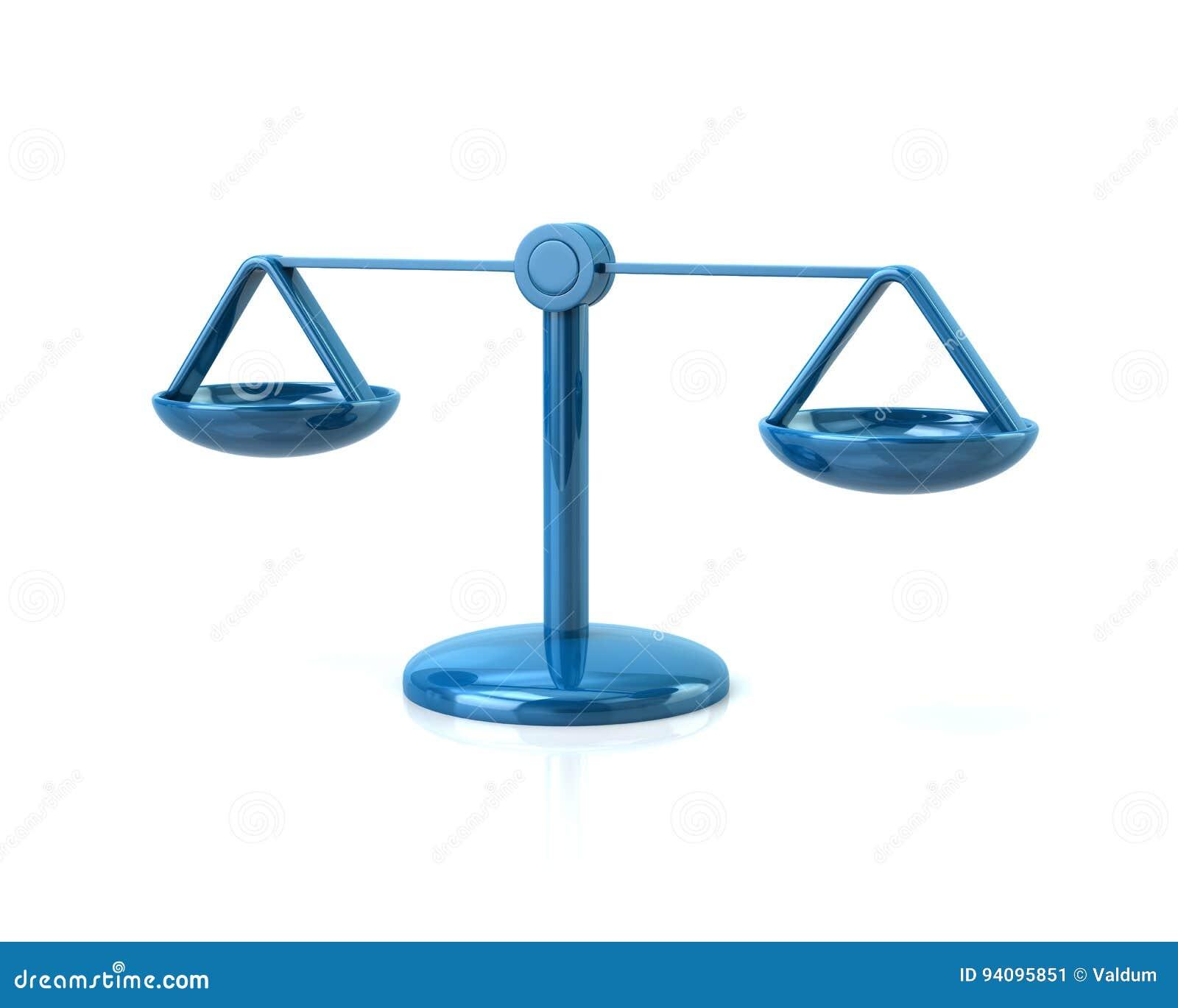 Blått graderar symbolen