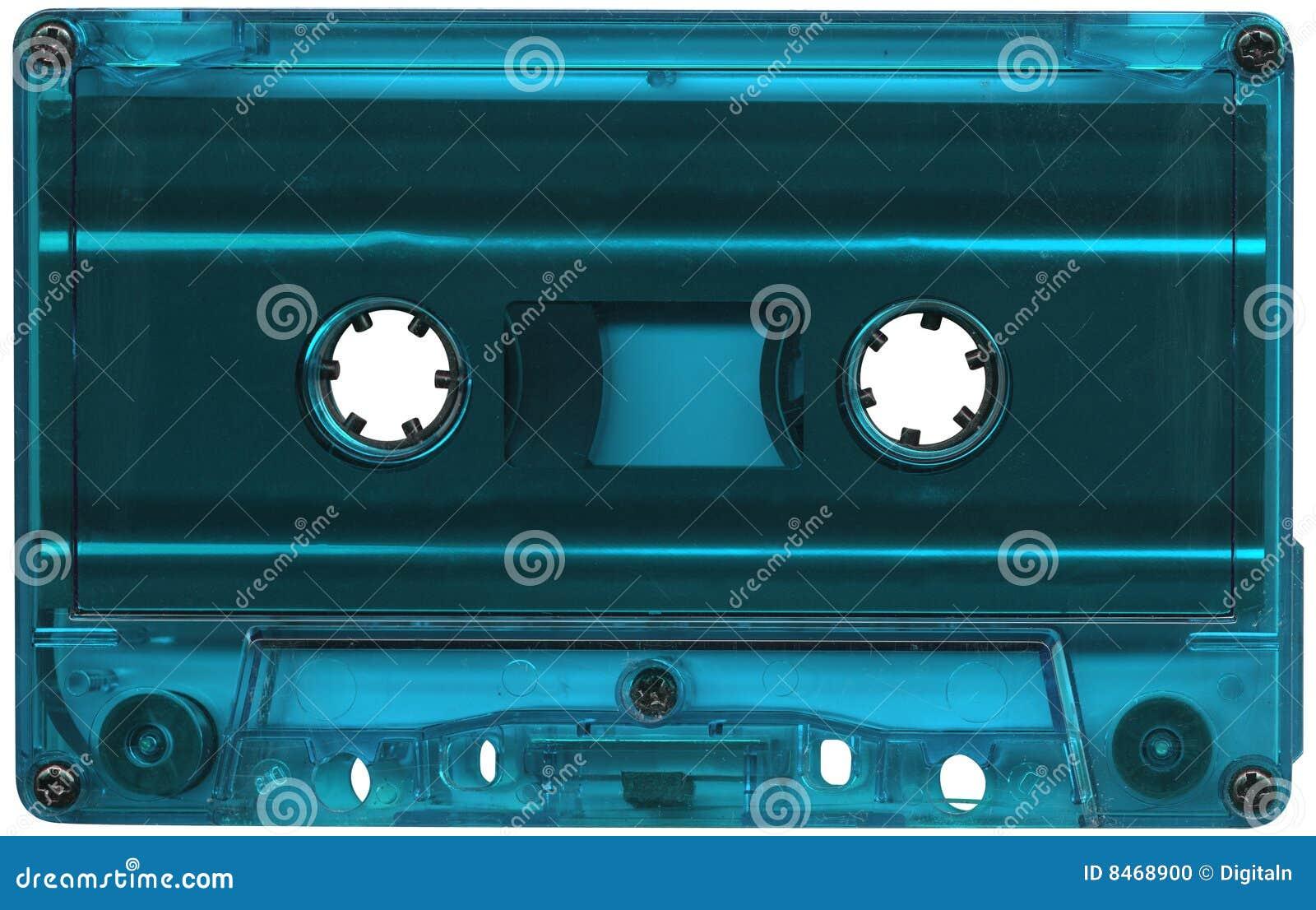 Blått kassettlampaband