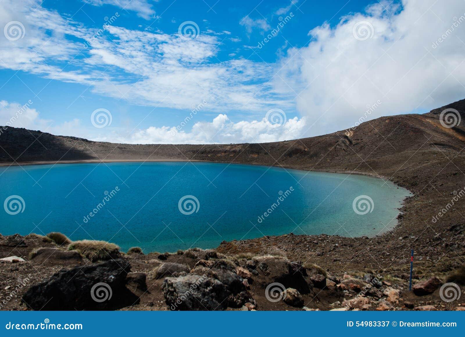 Blått Lake