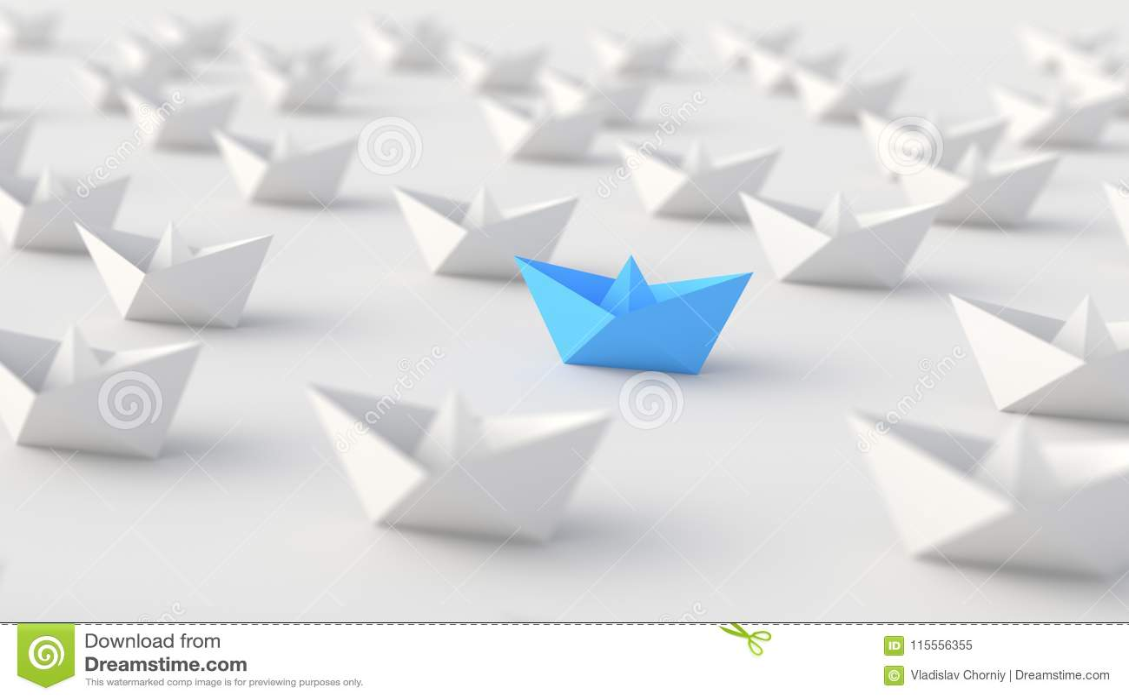 Blått ledarefartyg