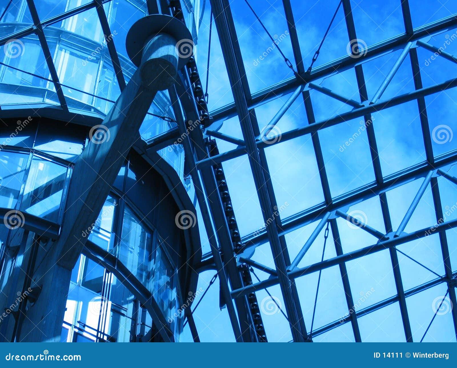 Blått tak