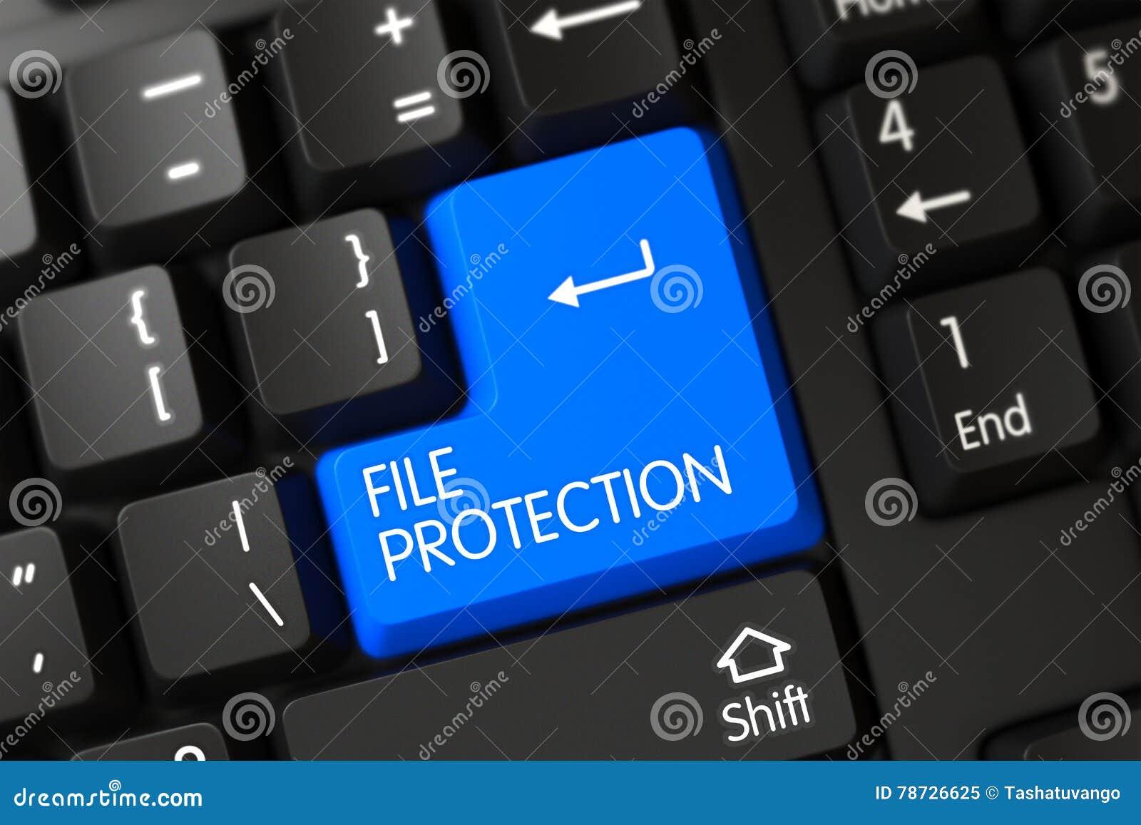 Blått tangentbord för mappskydd på tangentbordet 3d