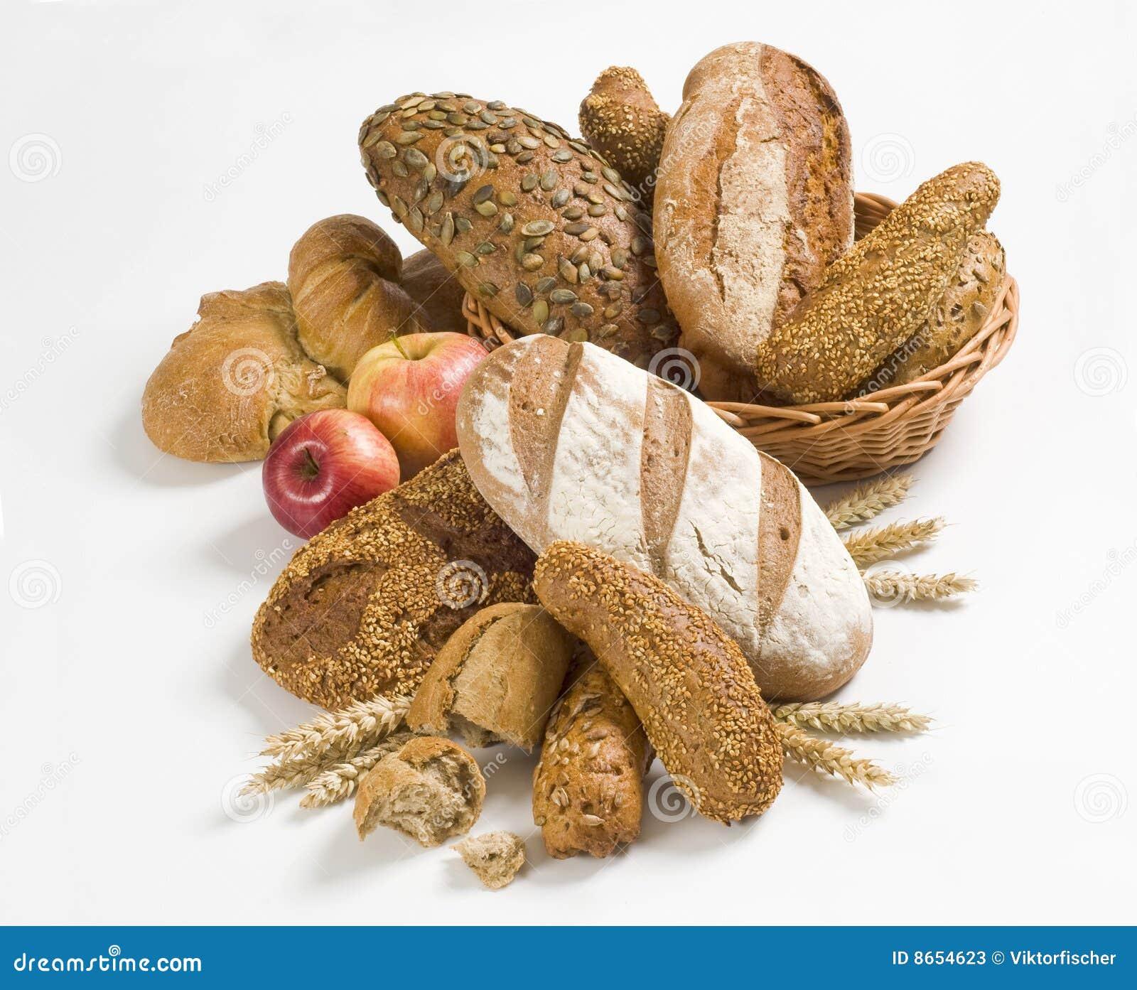 Blé de variété de pain entier