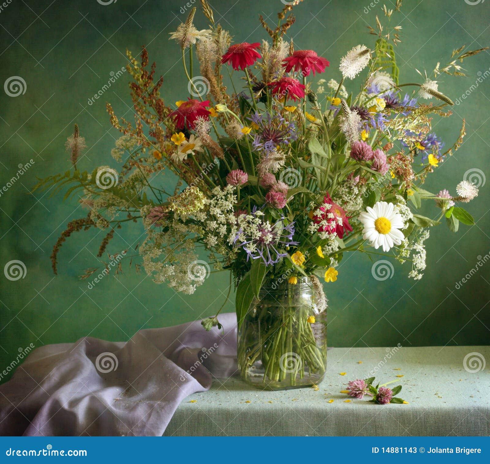 Blüht Blumenstrauß
