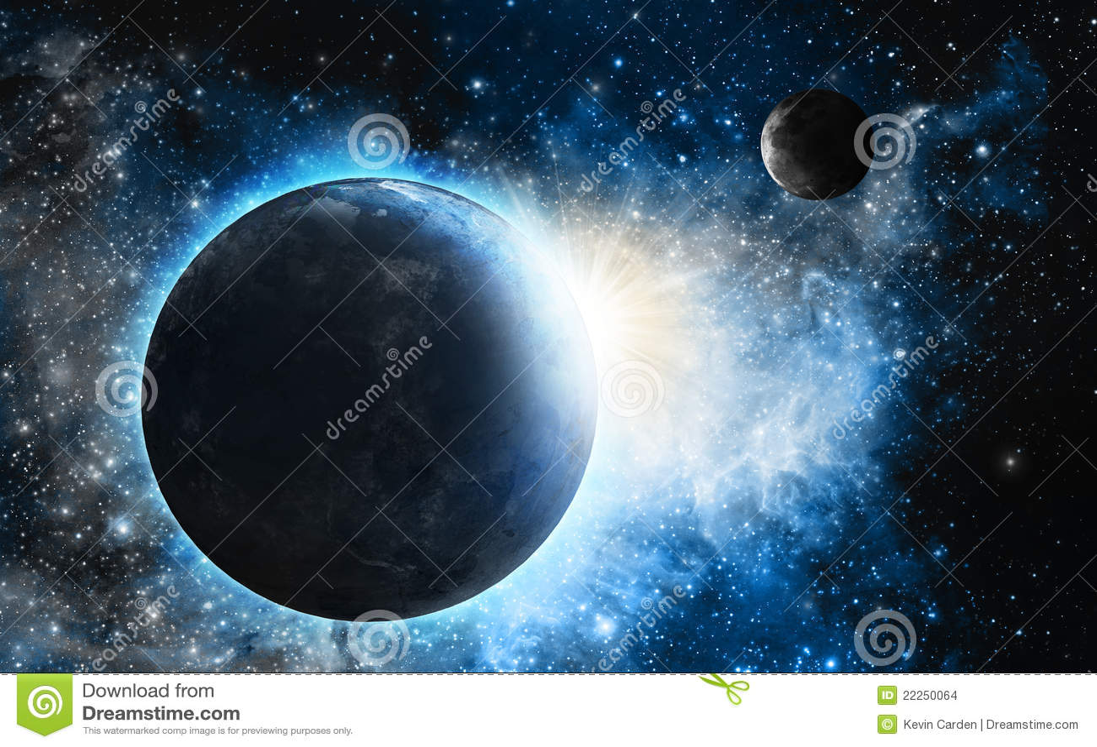 Blåa nebulaplanet