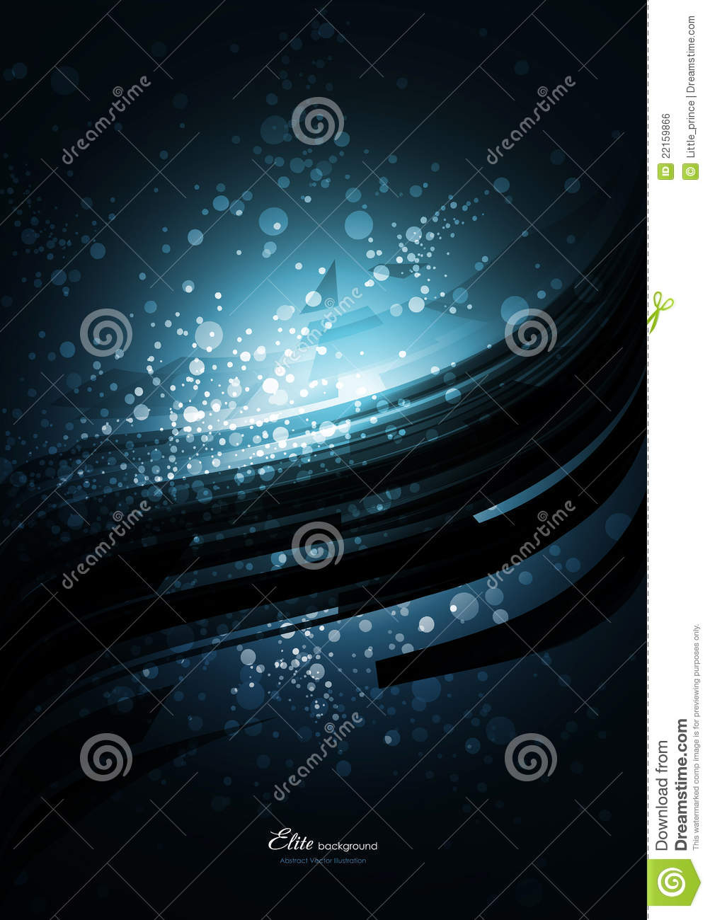 Blue Technology: Black Abstract Technology Background Royalty Free Stock
