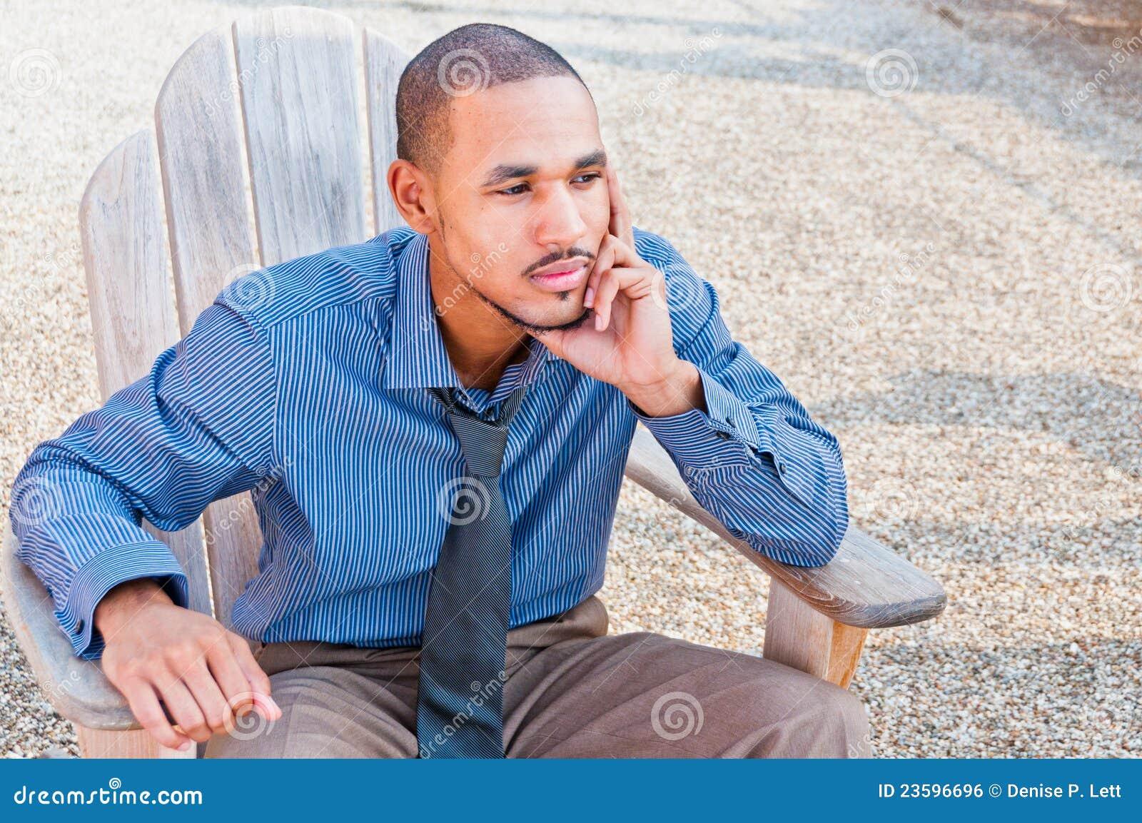 Black African American Professional Man