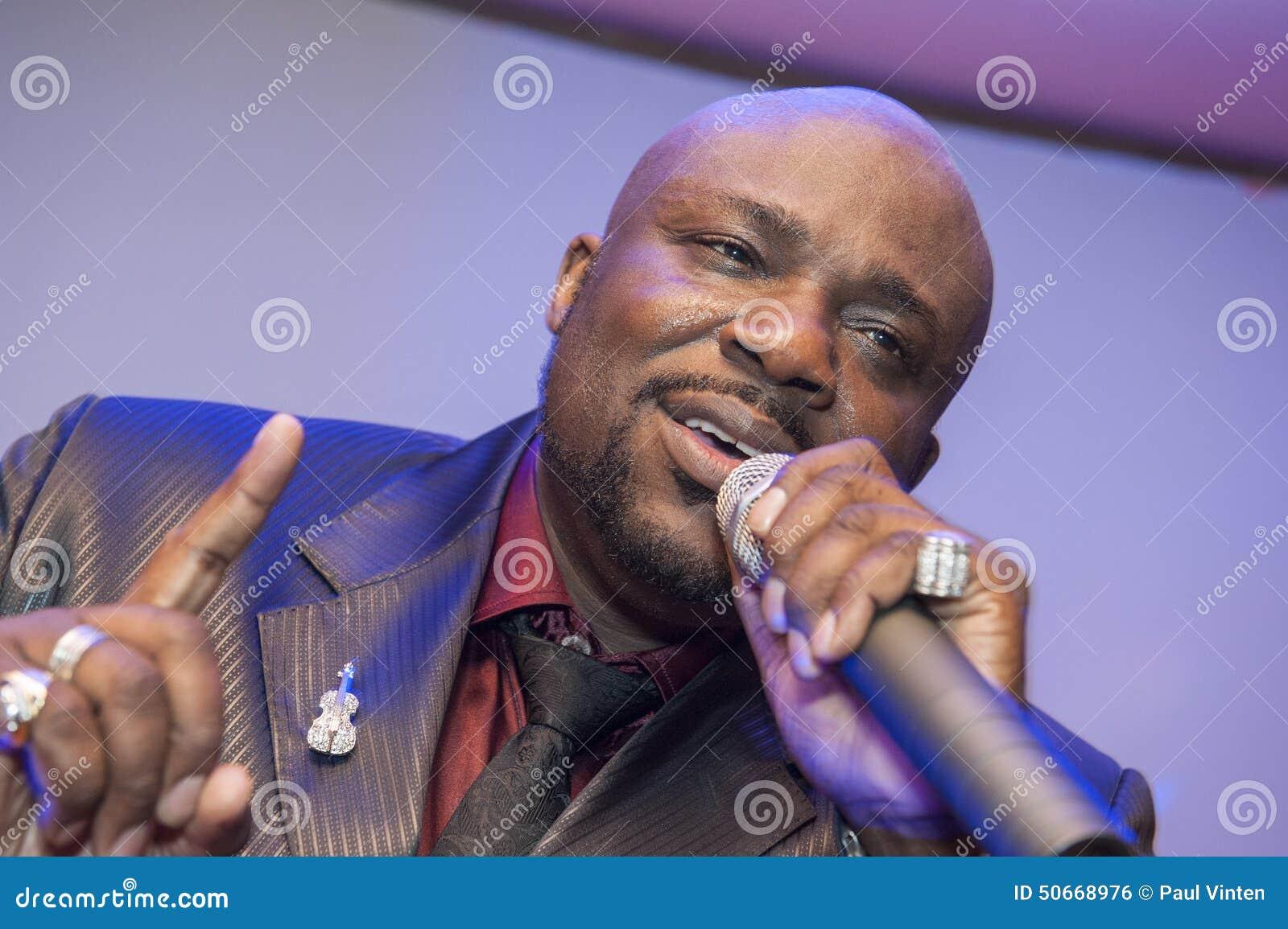 black african male singing live stock image 43175827. Black Bedroom Furniture Sets. Home Design Ideas