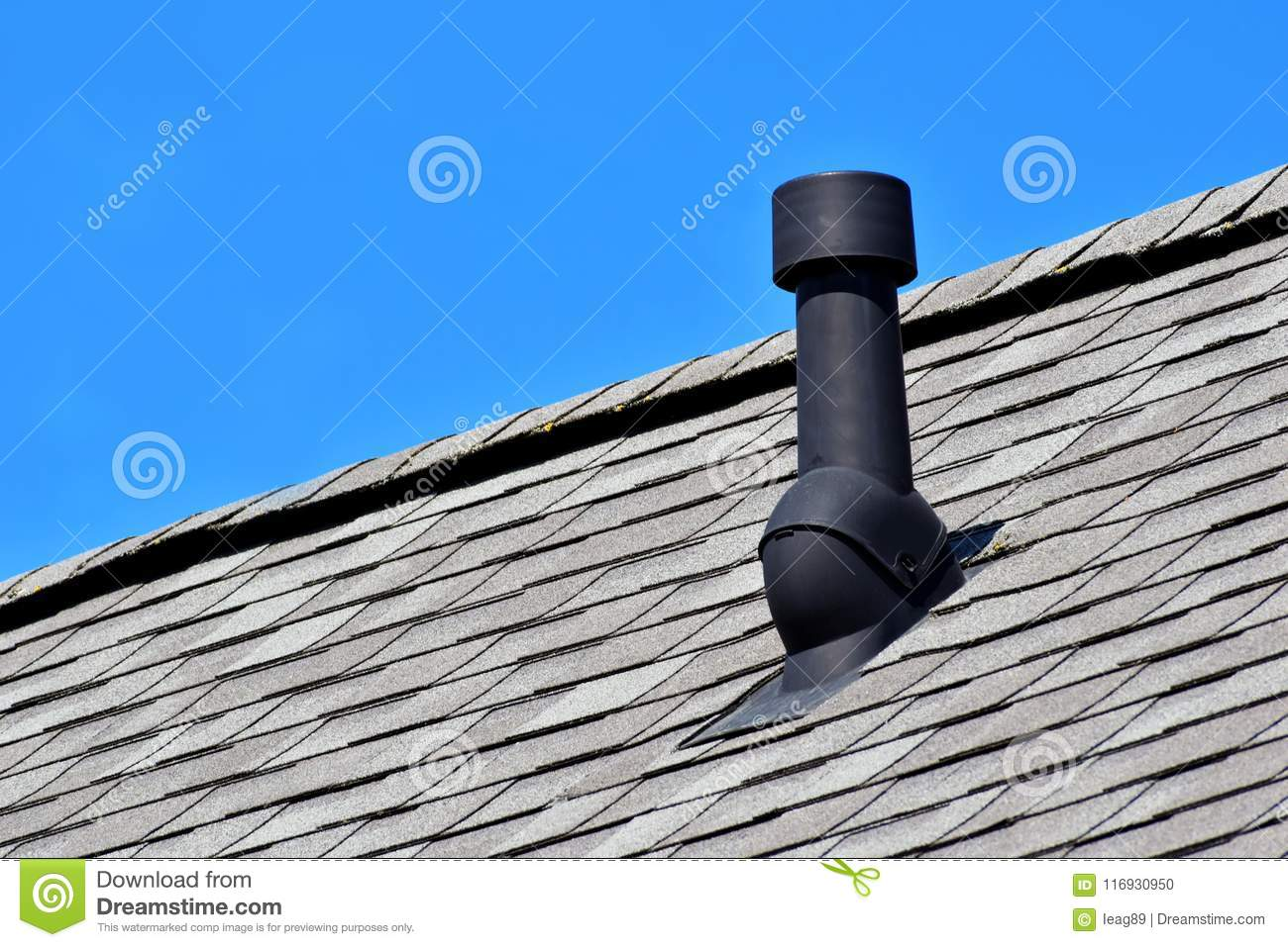 Air Vent On The Roof Royalty Free Stock Photography