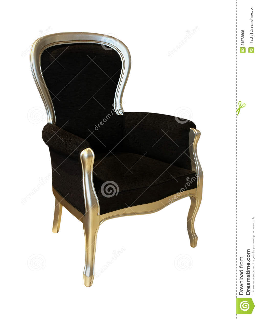 Black antique chair - Black Antique Chair Stock Photo. Image Of Path, Black - 31873808