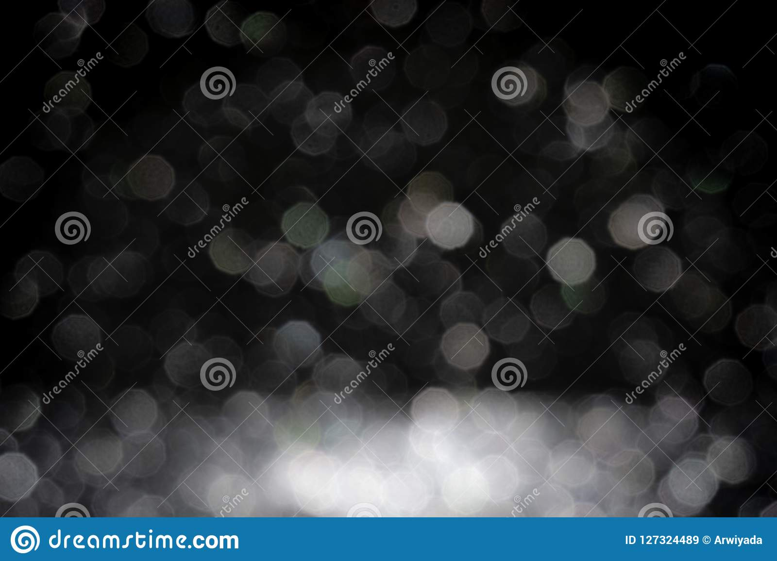 Black background for christmas navy glitter sparkle. Abstract bo