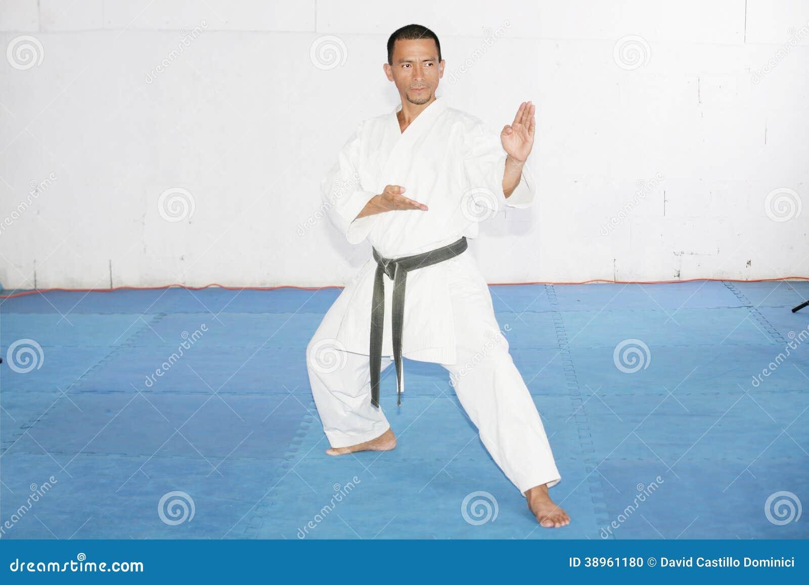 from Harlan black men in karate