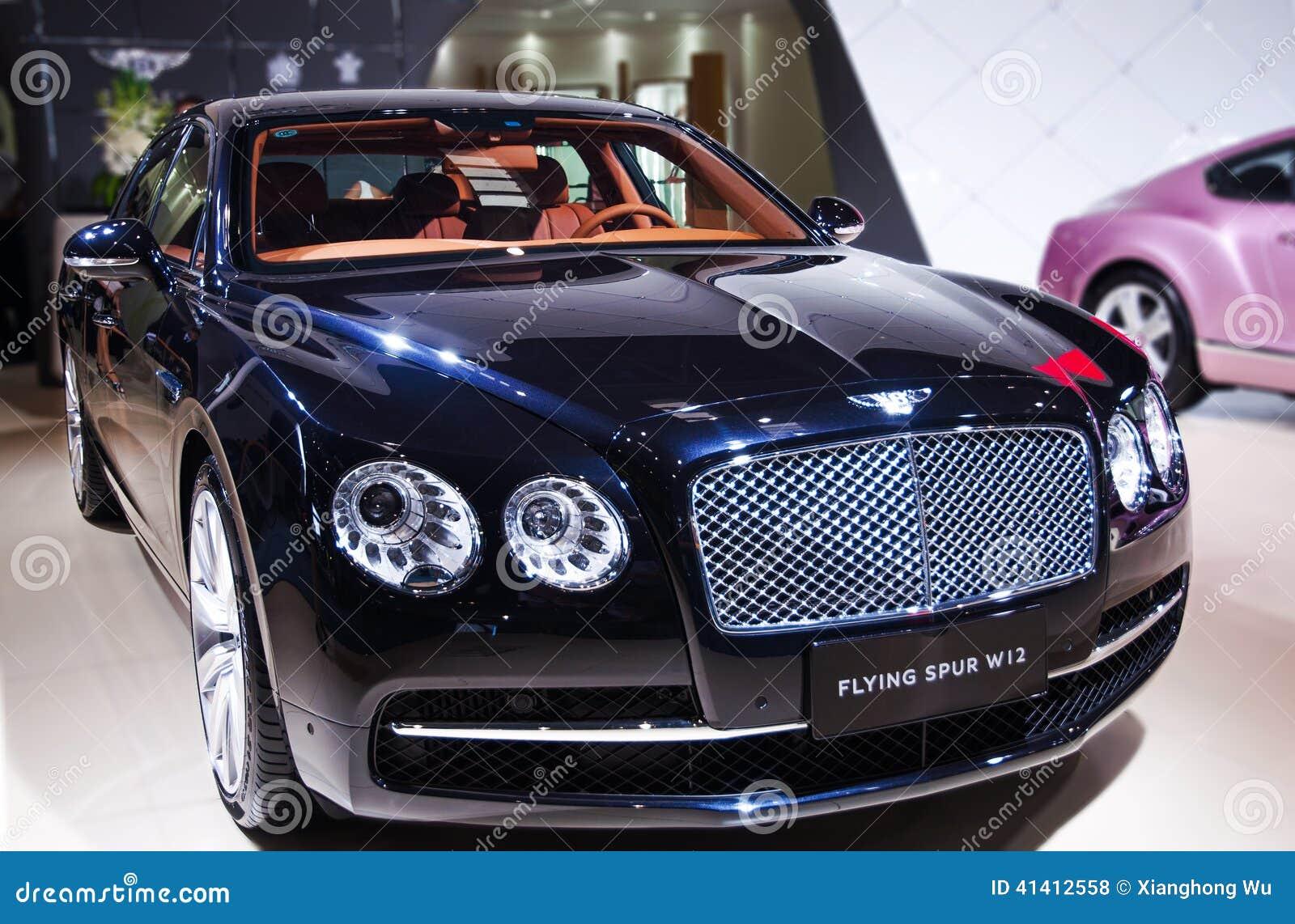 A Black Bentley Car Editorial Stock Photo Image Of Bayerische