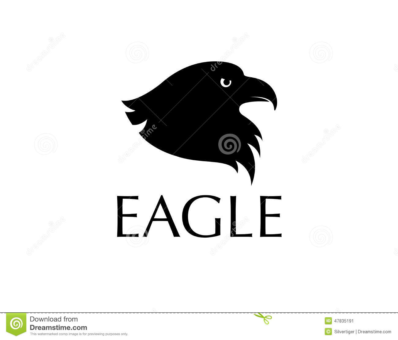 black bird logo stock vector