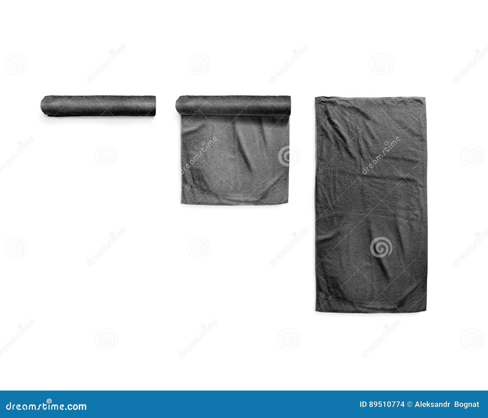 blank white beach towel. Black Black Soft Beach Towel Mockup Set Blank White S