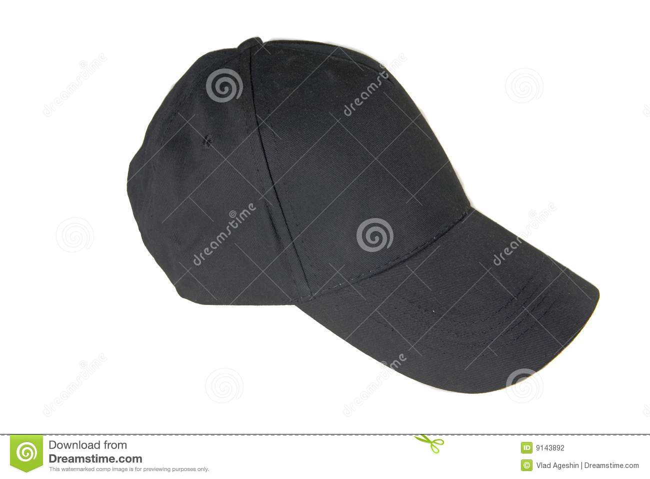 blank black baseball hat - photo #41