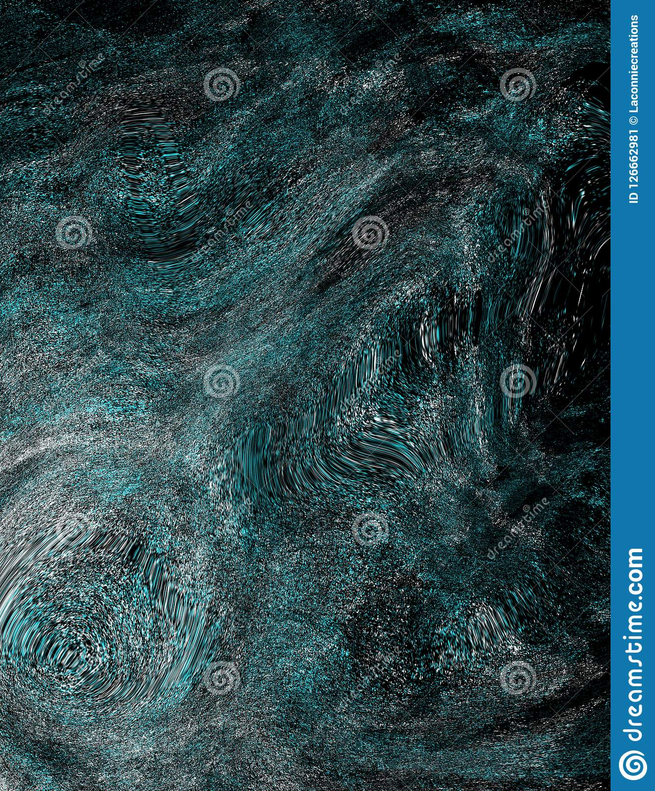 Black and blue  abstract textured background. Black and blue abstract background Vector Illustration