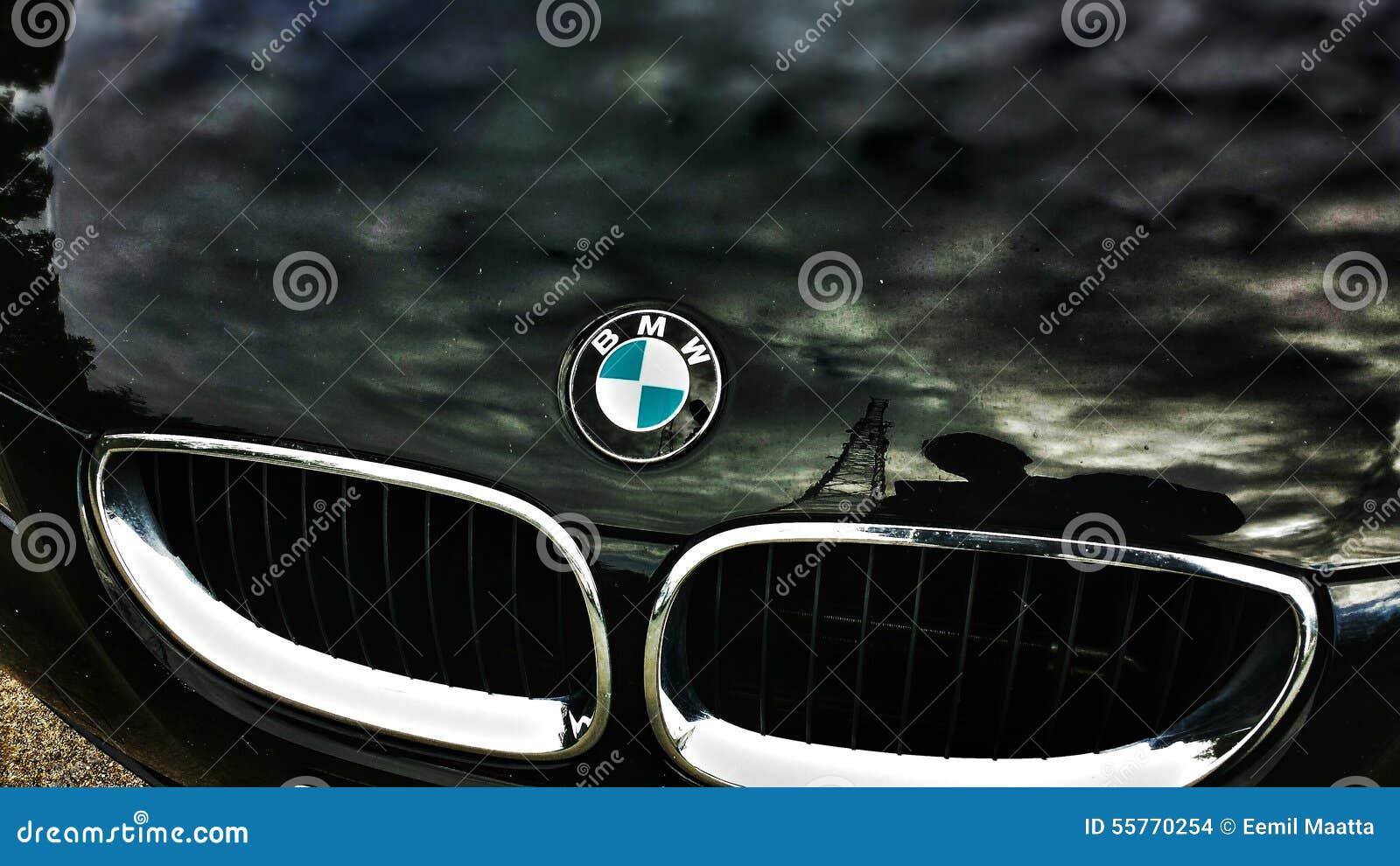 Black Bmw Car Editorial Stock Image Image Of Dark Black 55770254