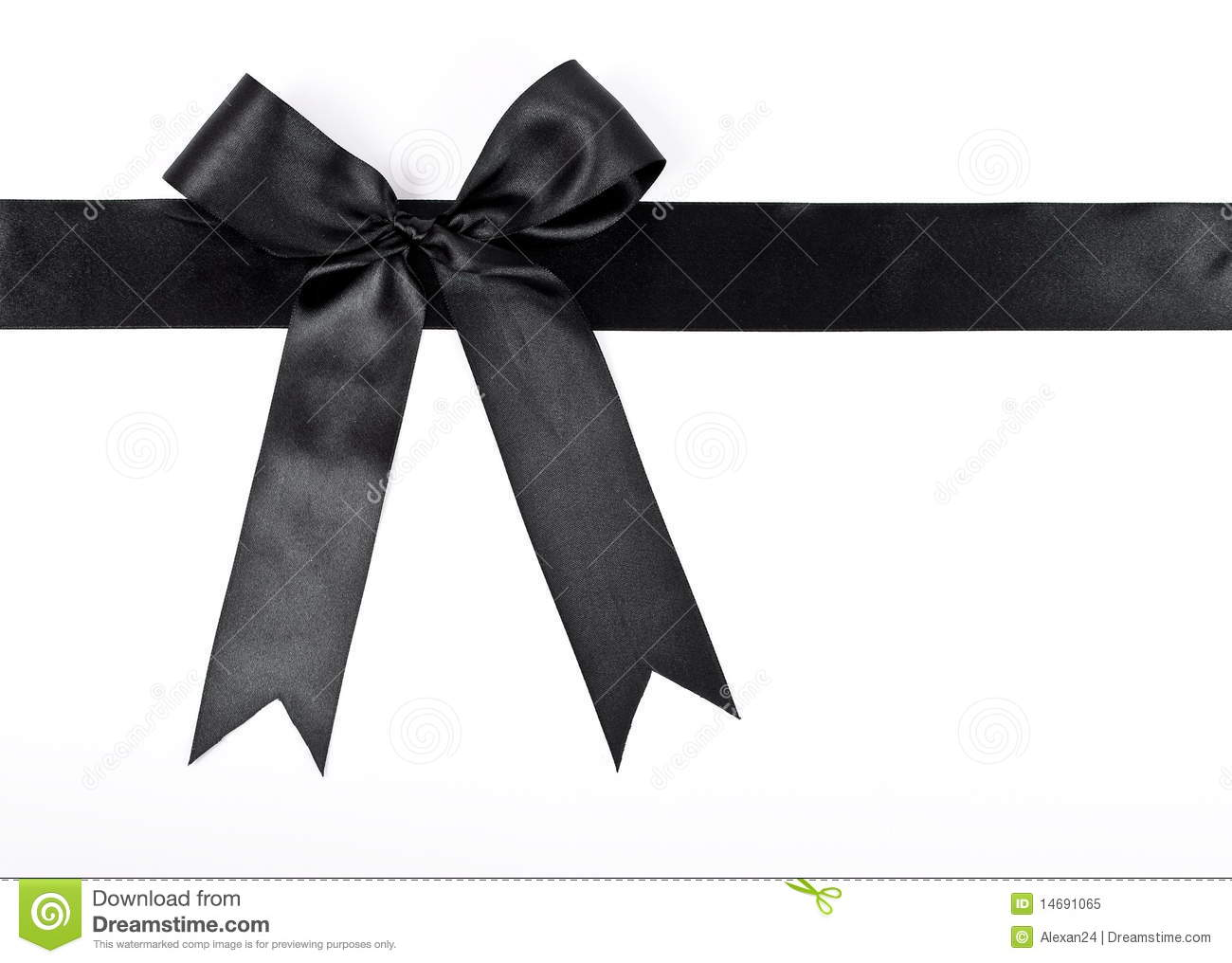 Black Ribbon Stock Photos - Image: 28673093