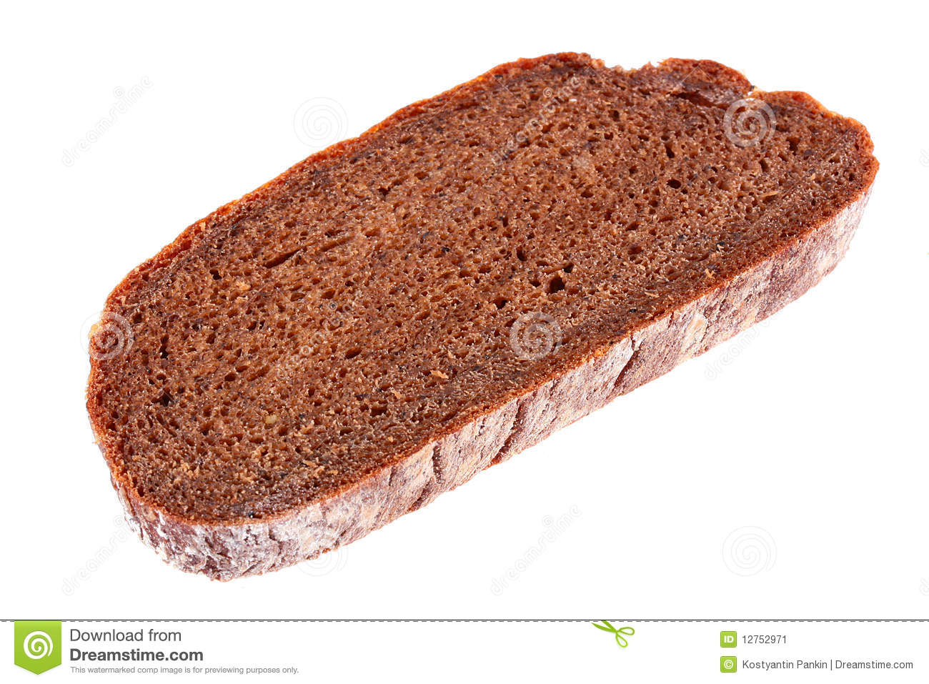 Black Bread Stock Image - Image: 12752971