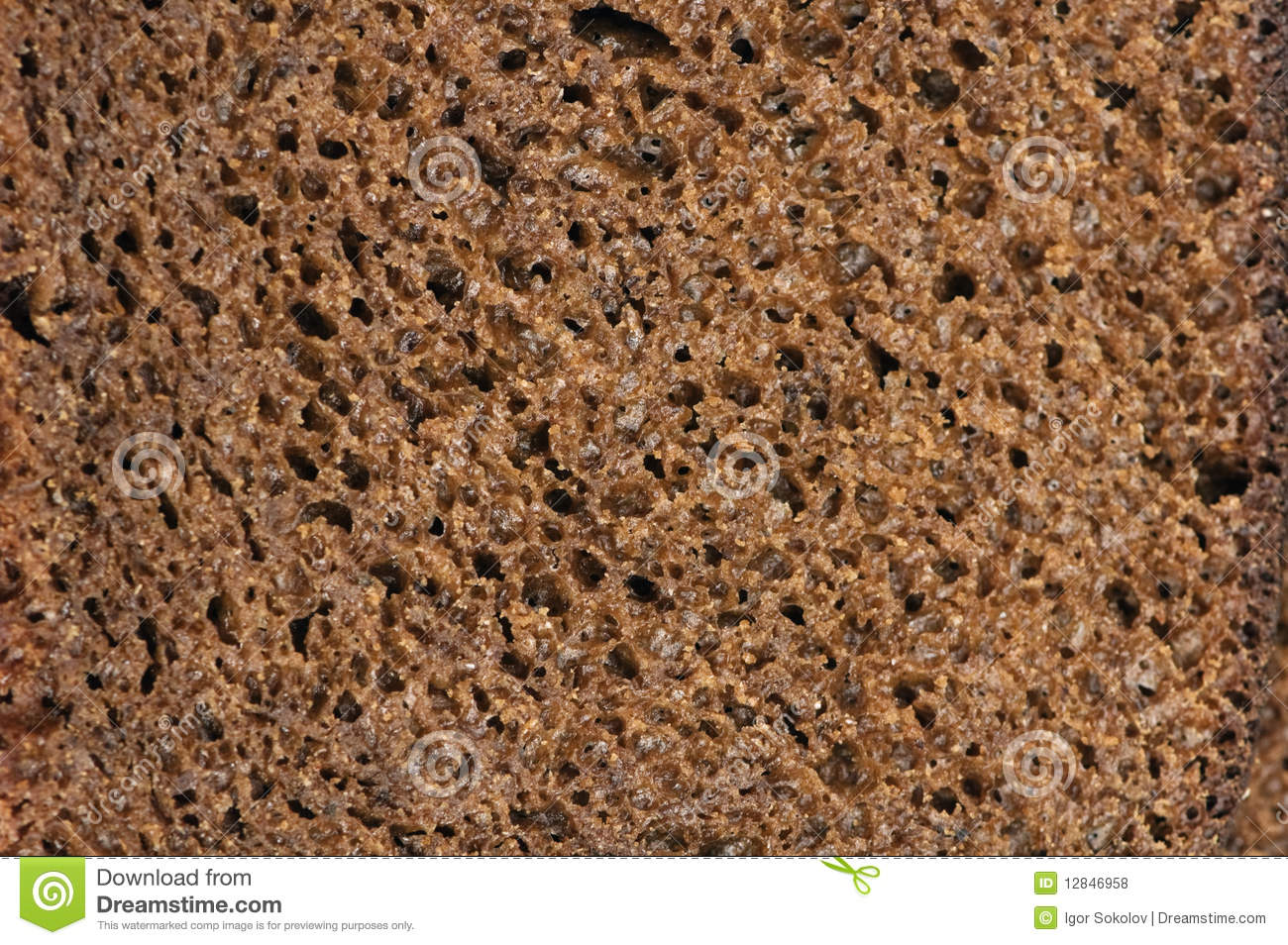 Black Bread Royalty Free Stock Photos - Image: 12846958