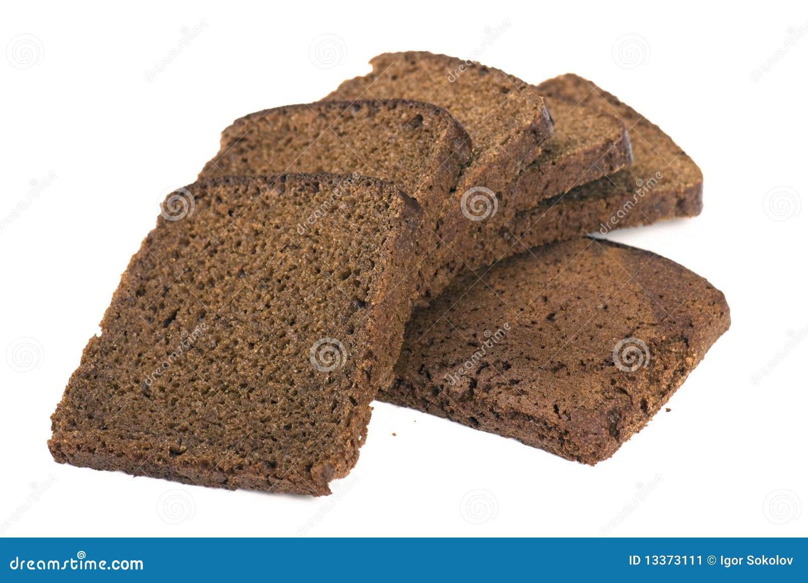 Black Bread Stock Image - Image: 13373111