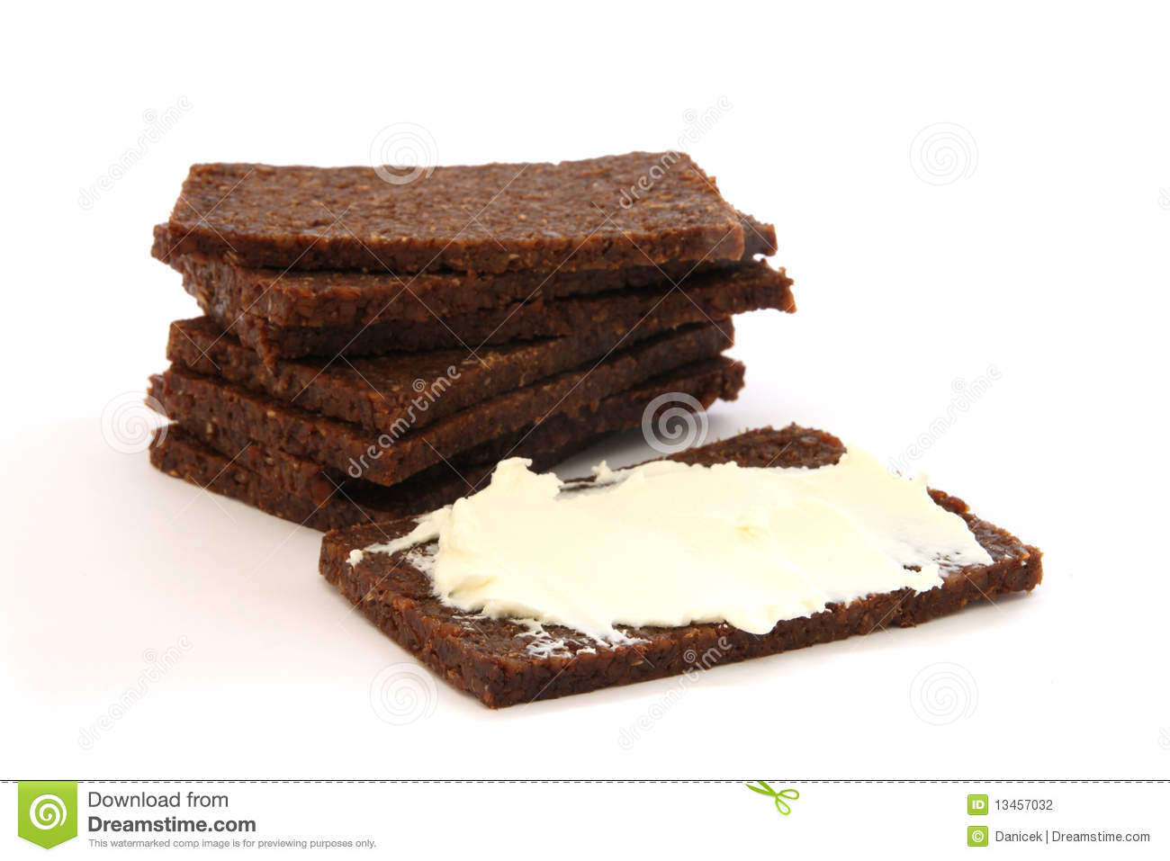 Black Bread Stock Photography - Image: 13457032