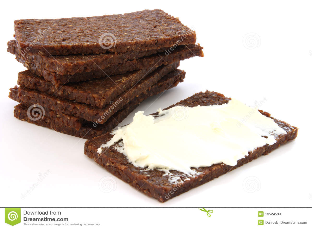 Black Bread Royalty Free Stock Photos - Image: 13524538