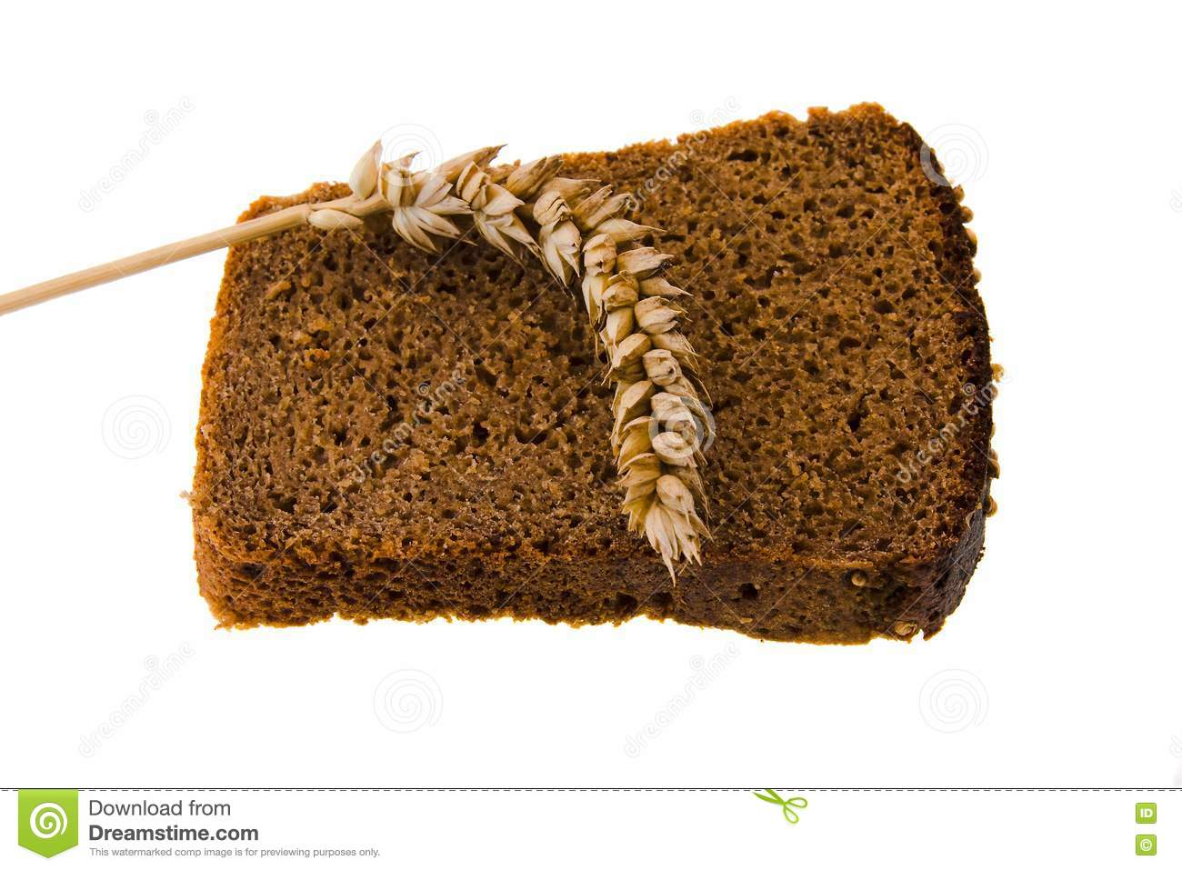 Black Bread Royalty Free Stock Photography - Image: 16988957