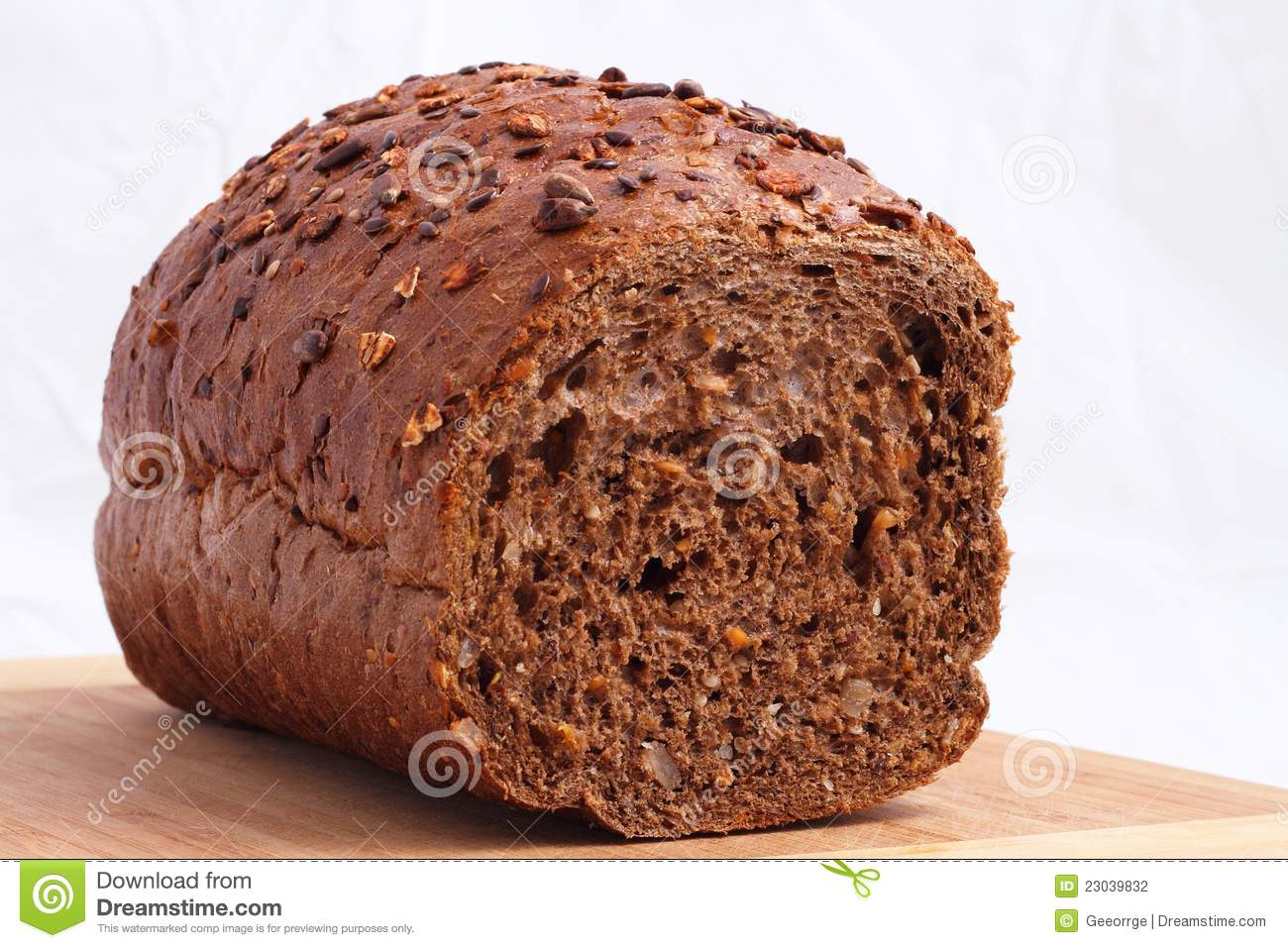 Black Bread On Table Stock Photography - Image: 23039832