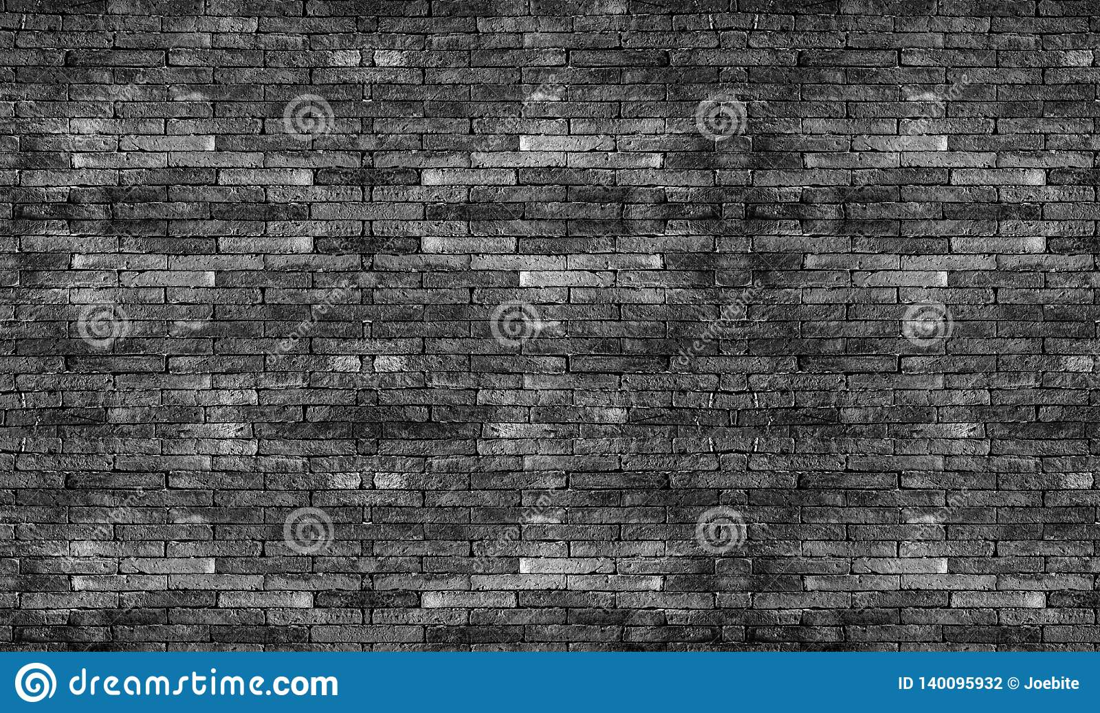 Black brick wall. The texture black stone blocks. Abstract background for design..